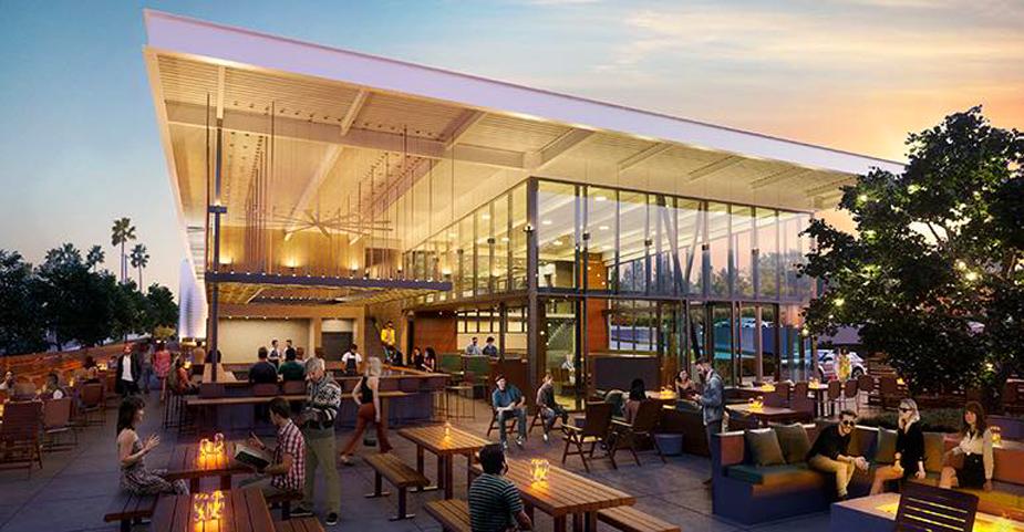 Gravity Heights Brewery & Beer Garden rendering