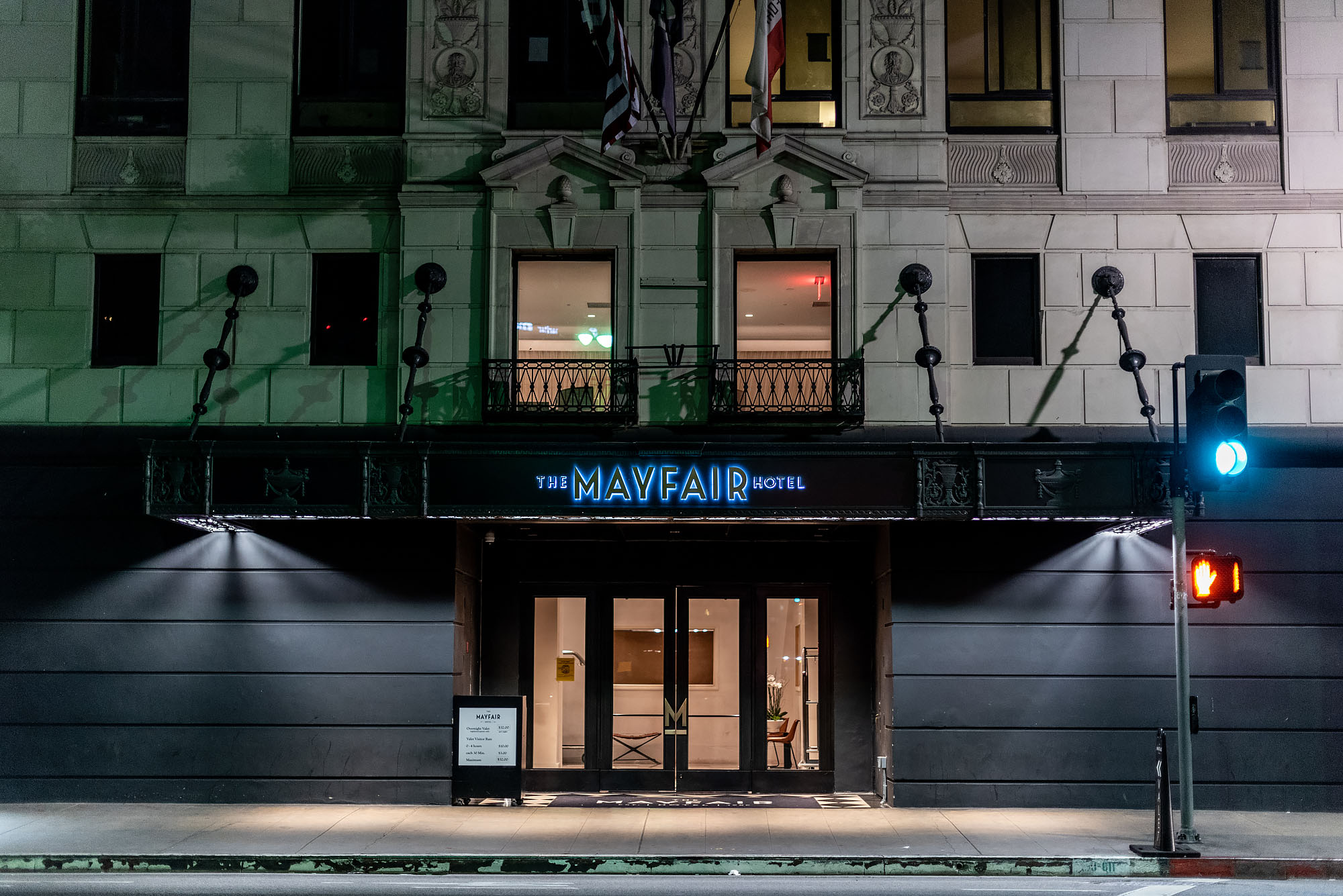 Downtown LA's Historic Mayfair Hotel Inches Closer to a Grand Reopening