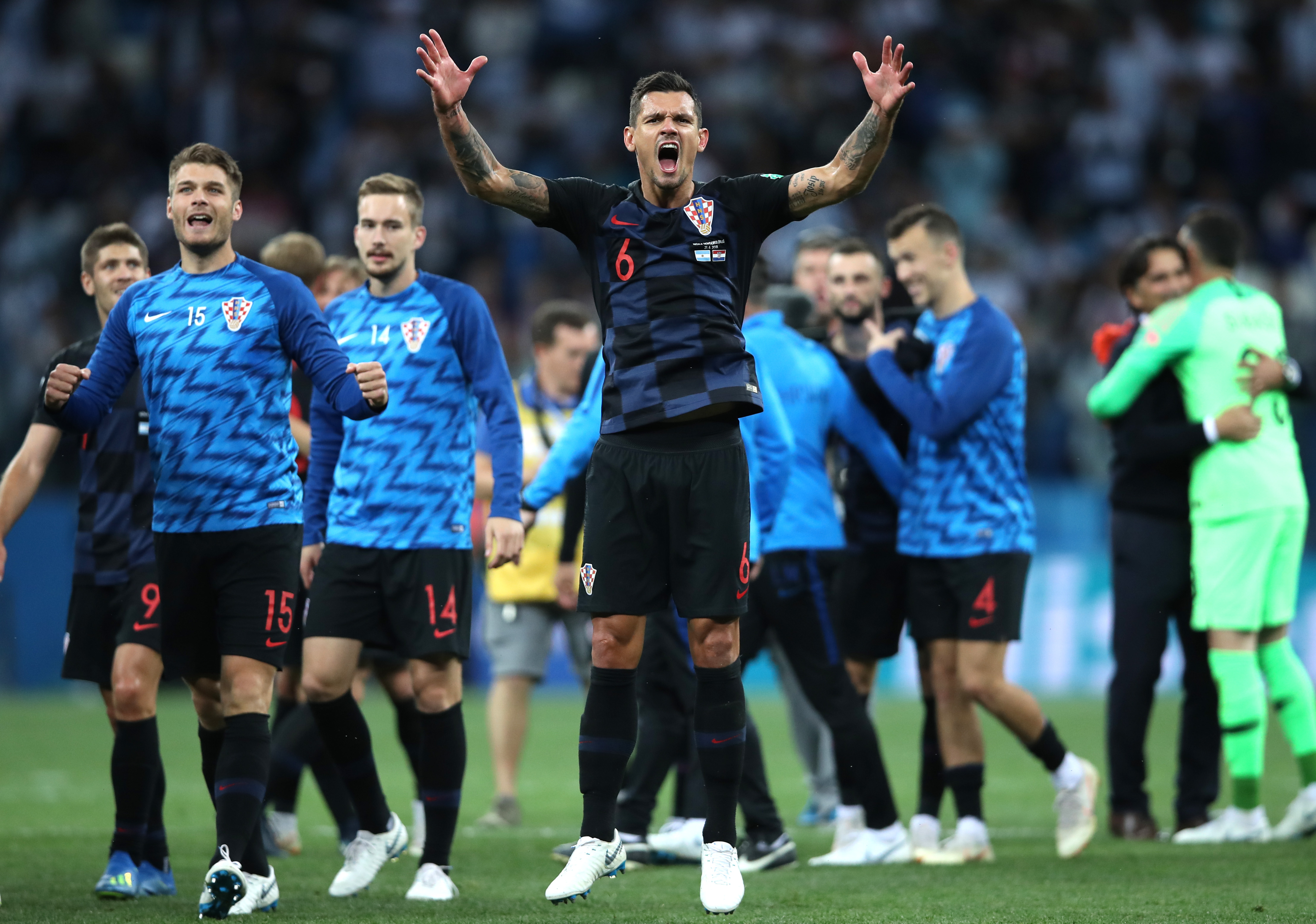 Dejan Lovren - Croatia - 2018 FIFA World Cup Russia
