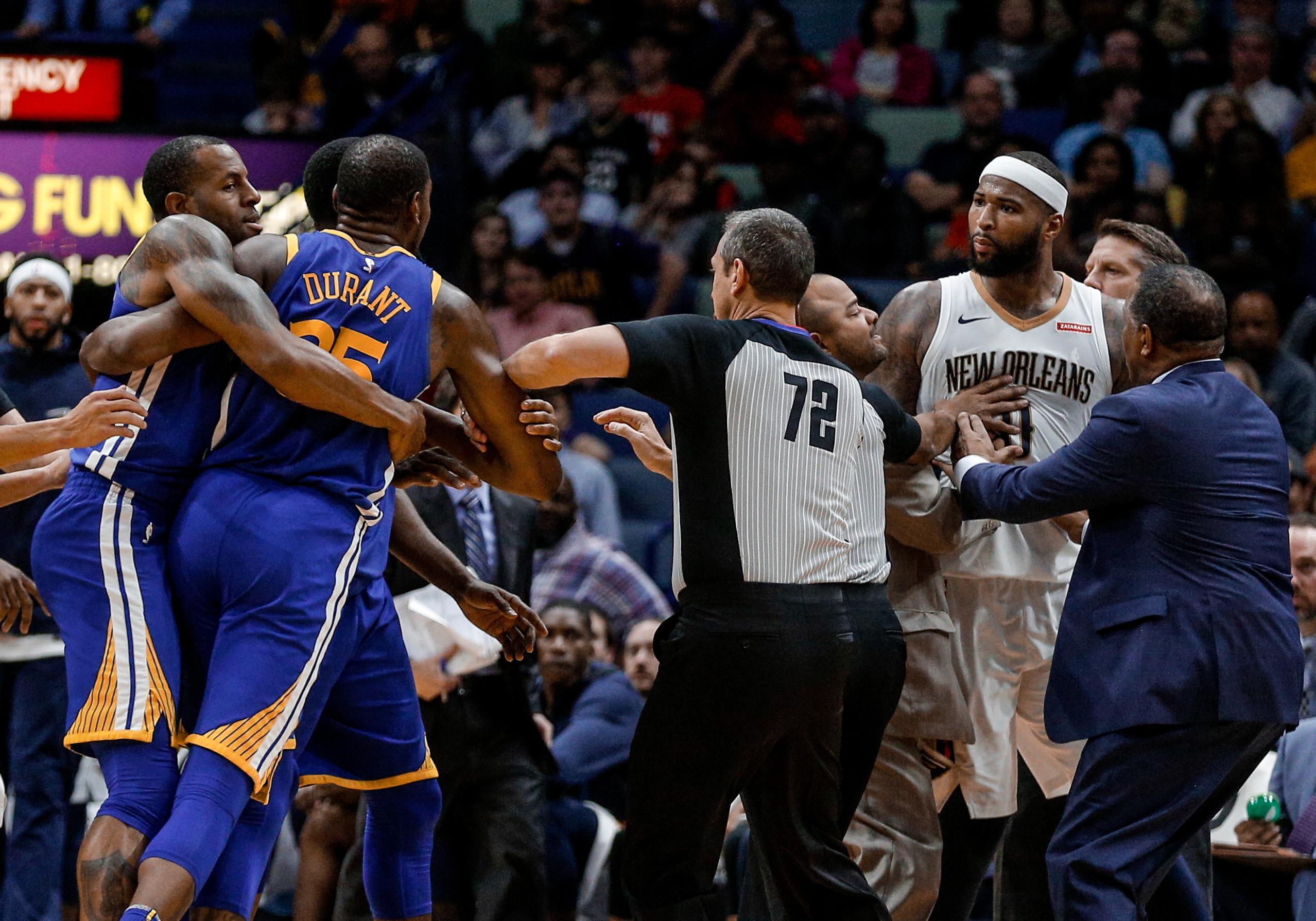 94b684508 DeMarcus Cousins couldn t resist a bad breakup with the New Orleans Pelicans