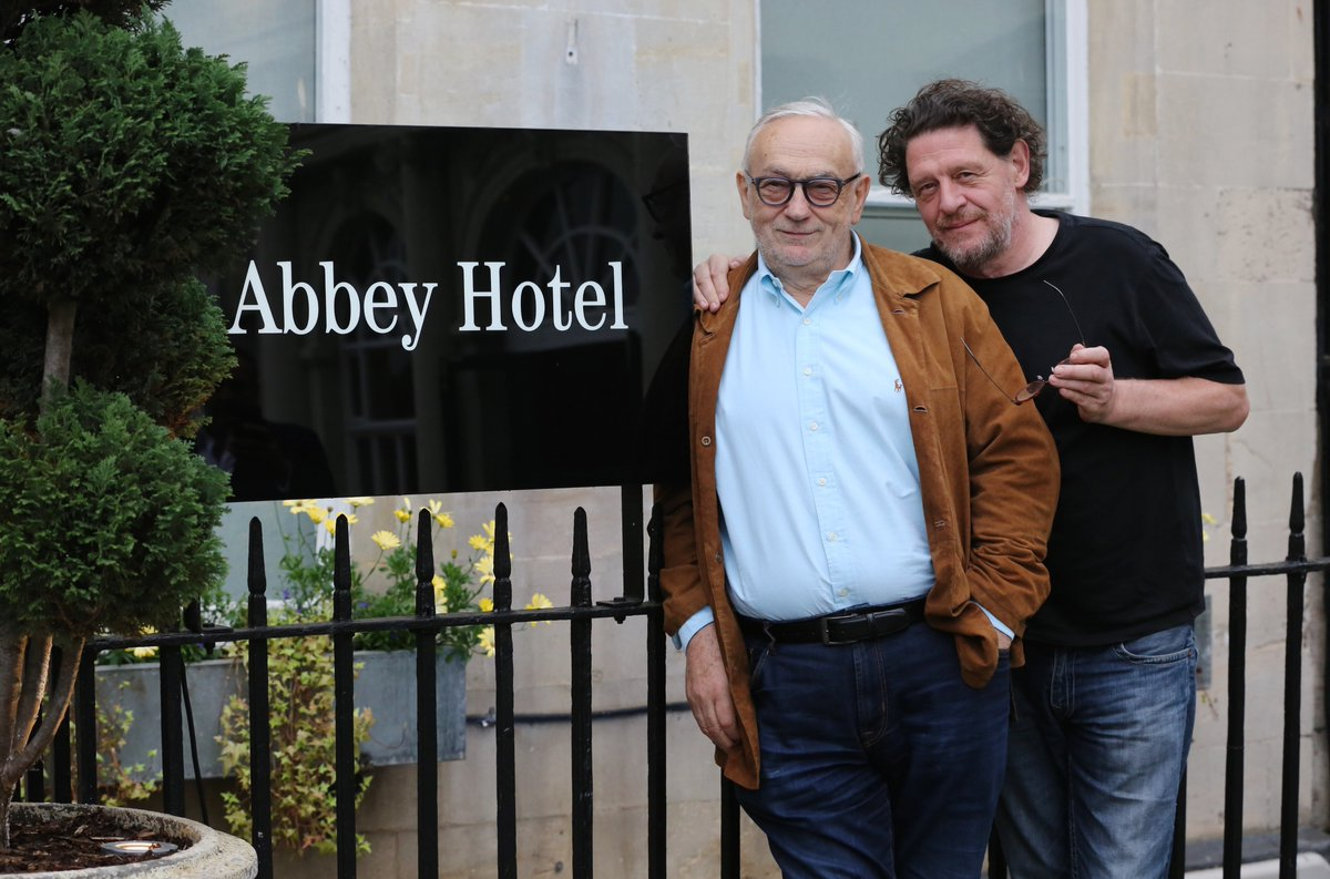 Pierre Koffmann and Marco Pierre White