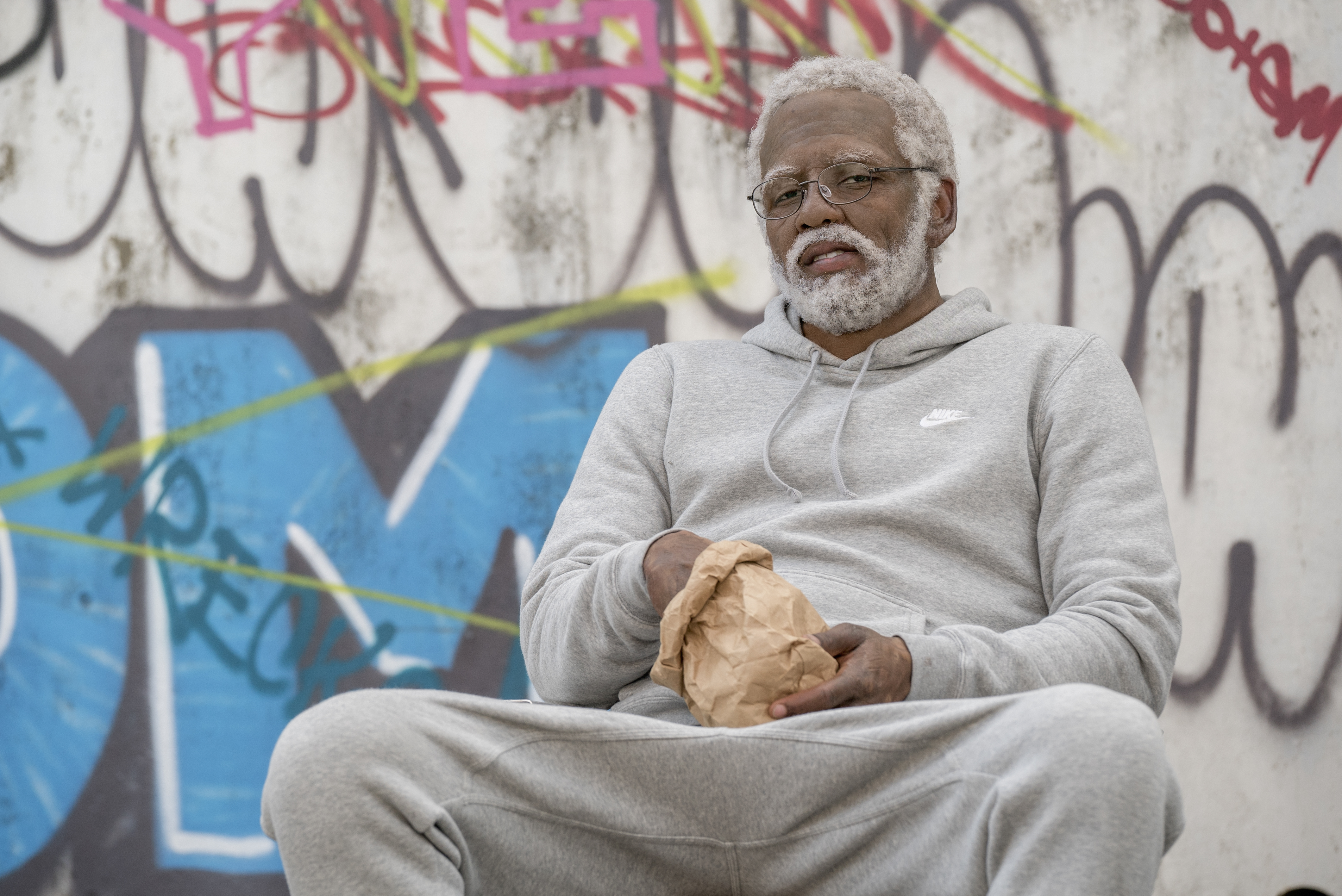 """Kyrie Irving as """"Uncle Drew"""""""