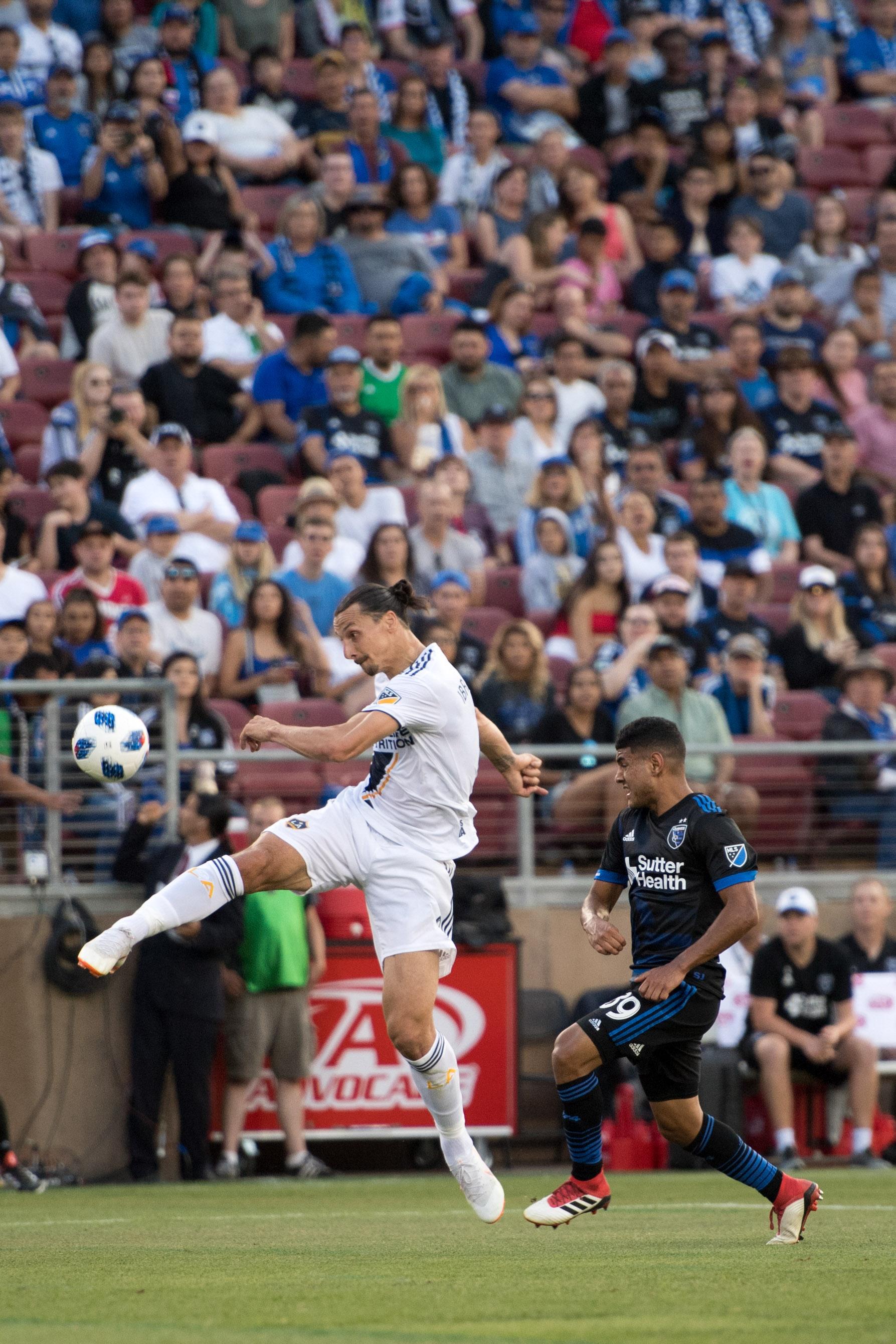 MLS: Los Angeles Galaxy at San Jose Earthquakes