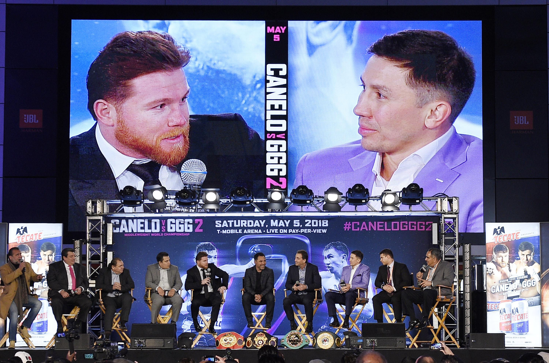 Canelo Alvarez v Gennady Golovkin Press Conference - Los Angeles