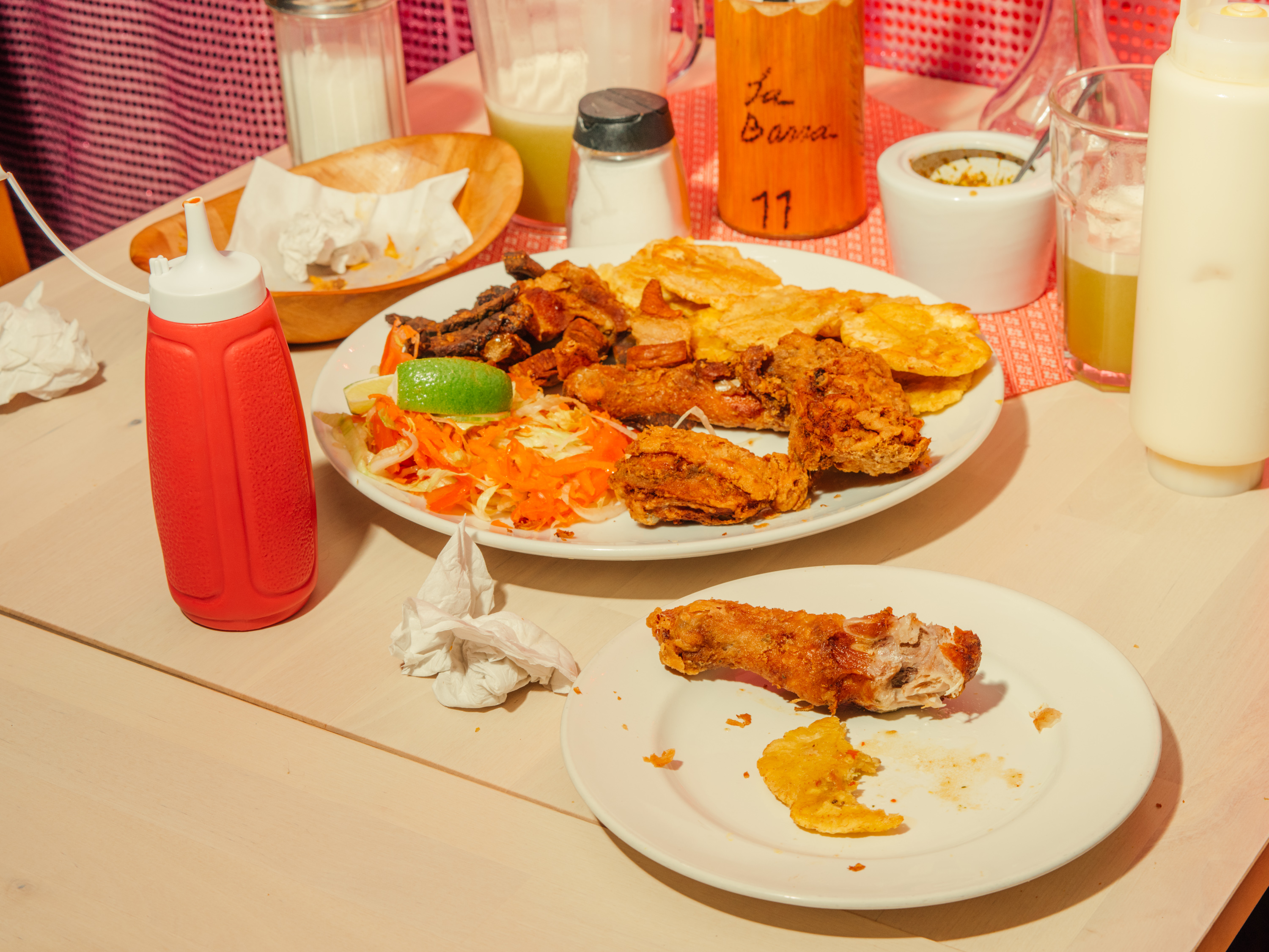Dominican fried pica pollo at La Barra in Elephant and Castle is some of the best fried chicken in London