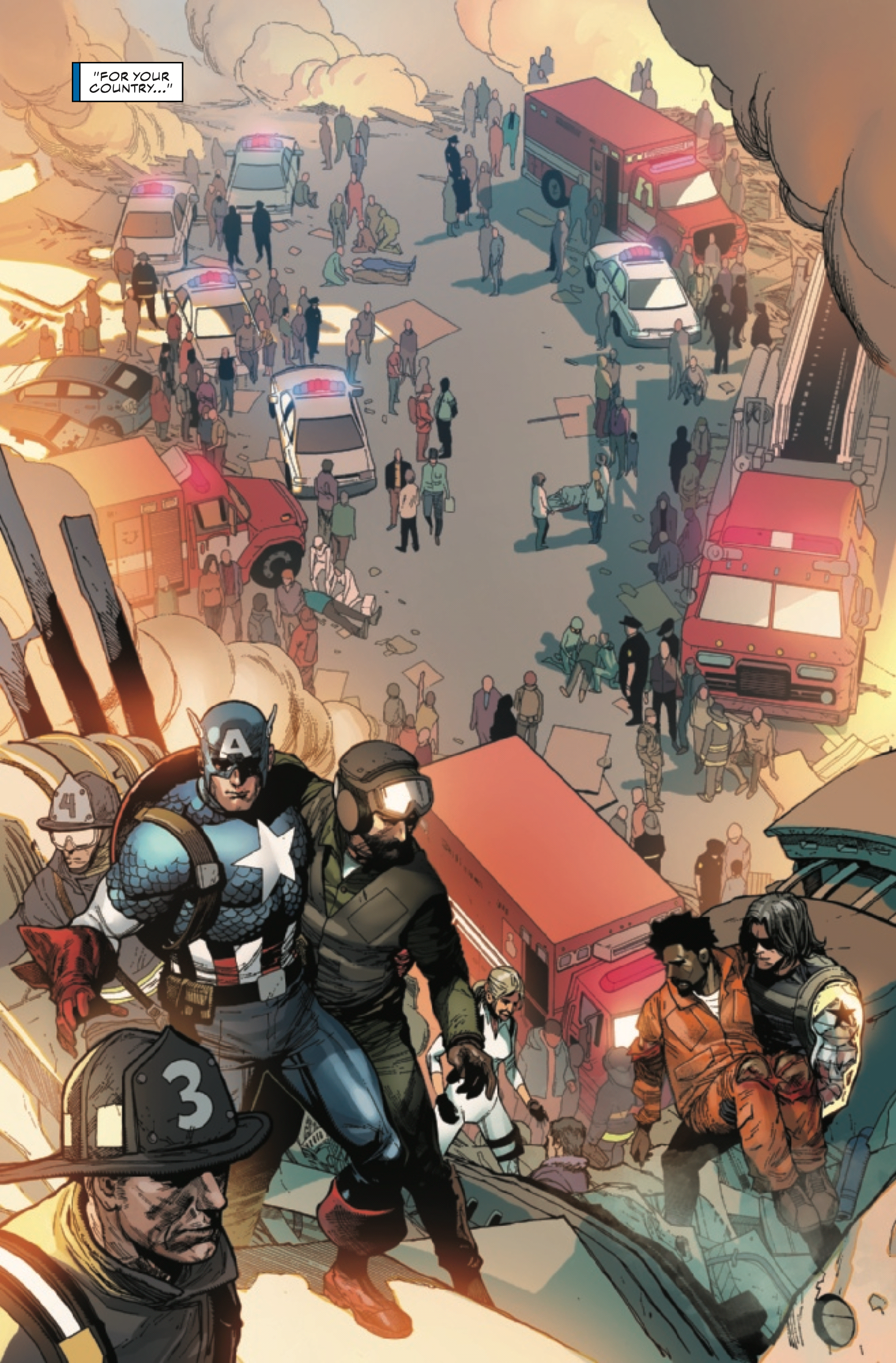Captain America #1 confronts his time as a villain in Secret Empire