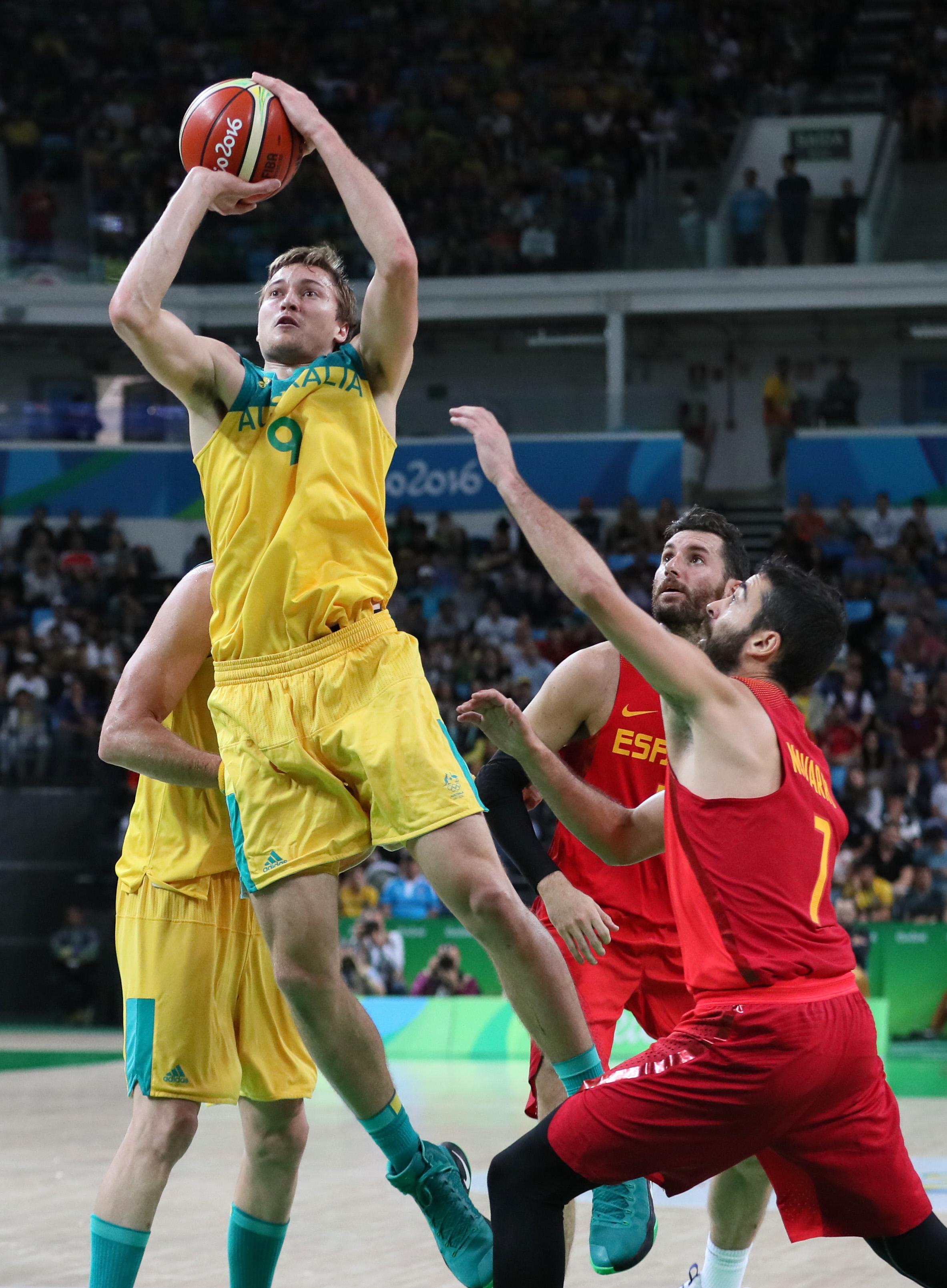 Olympics: Basketball-Men's Team-Bronze medal match -AUS vs ESP