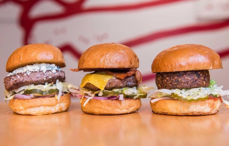 Burgers from Little Big Burger