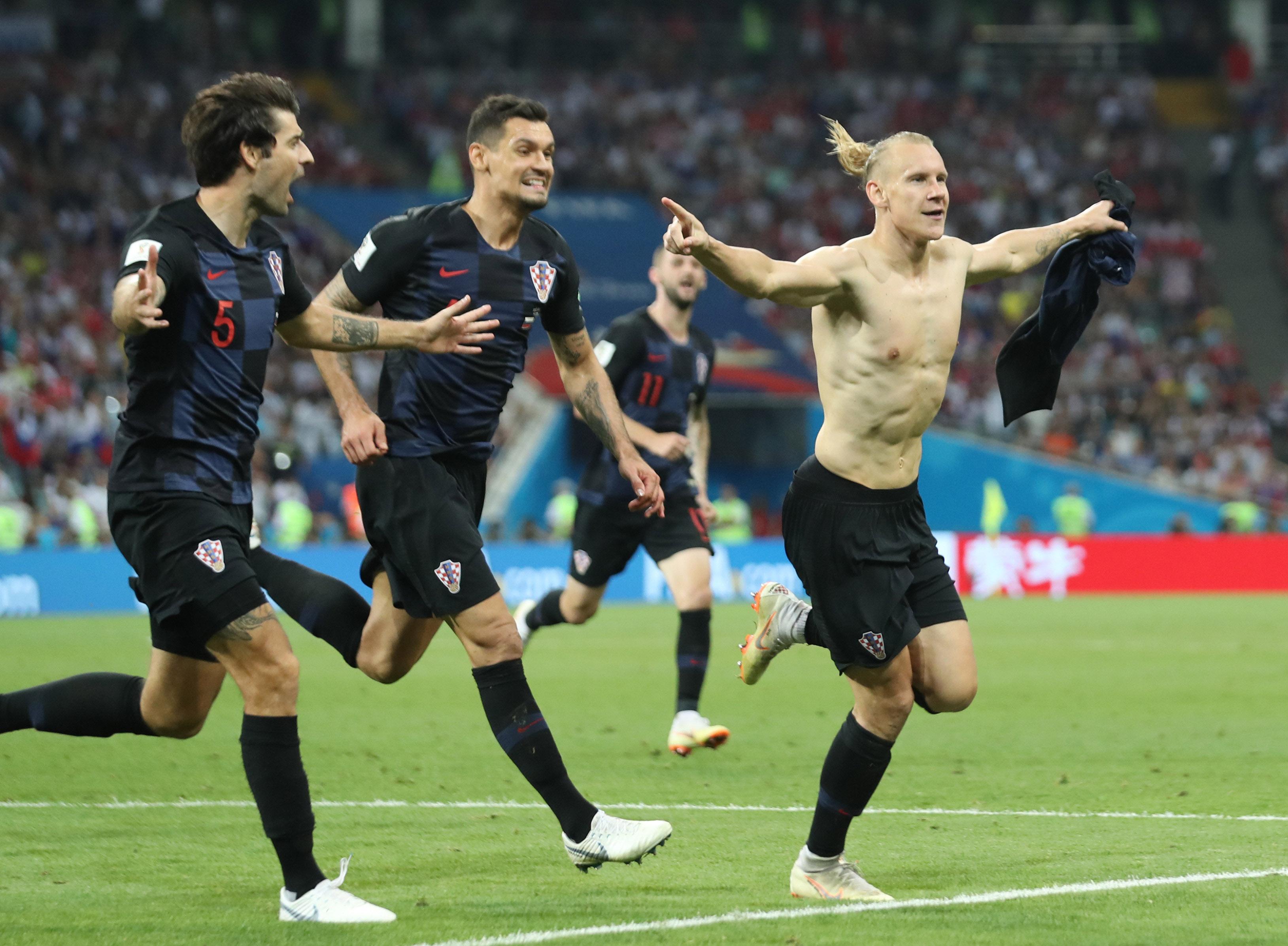 Soccer: World Cup-Russia vs Croatia