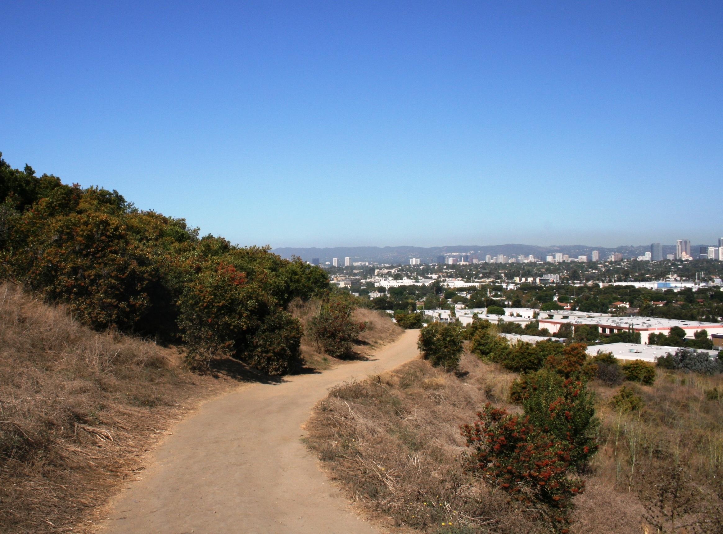 Baldwin Hills trail