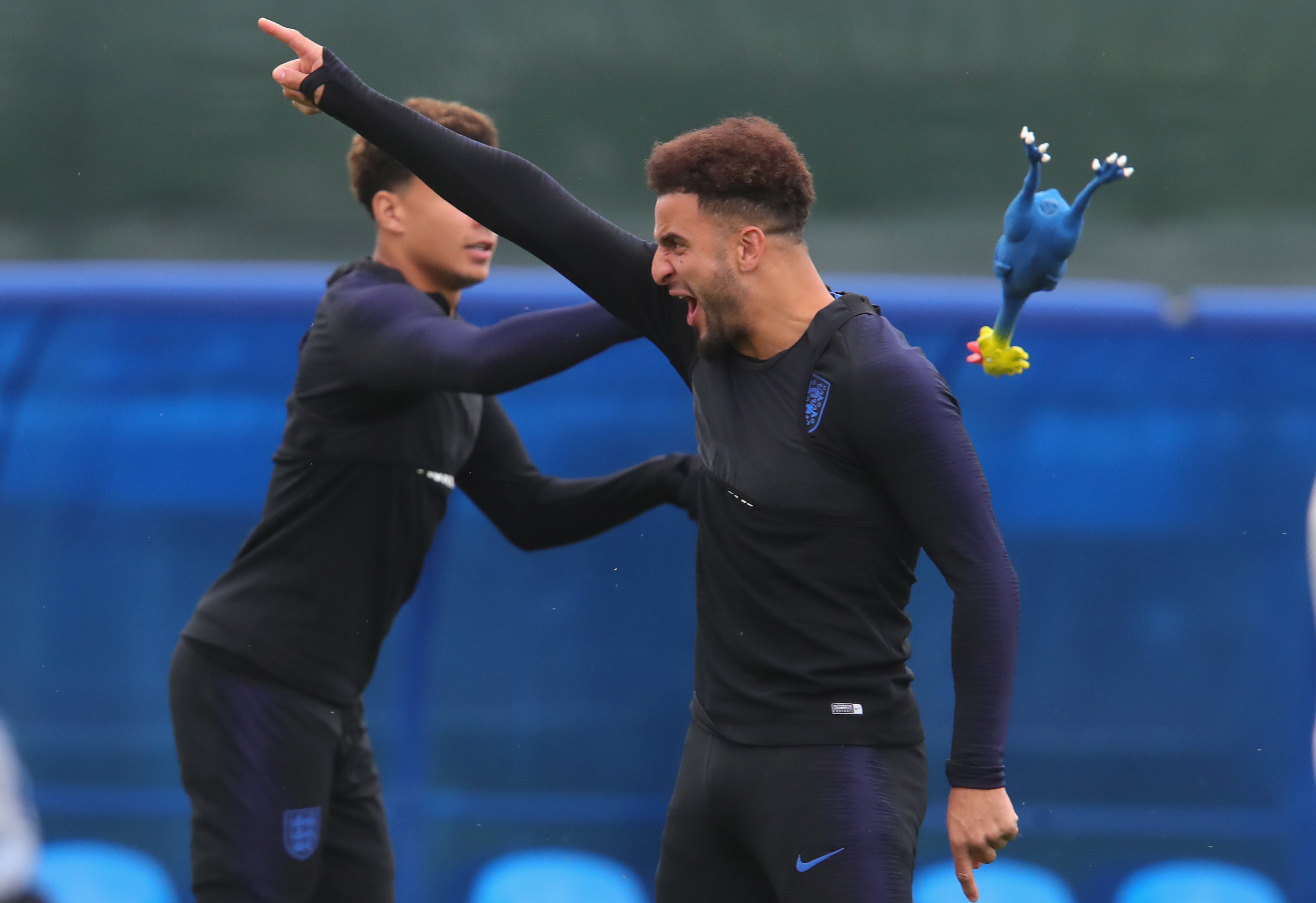England Training Session - 2018 FIFA World Cup Russia