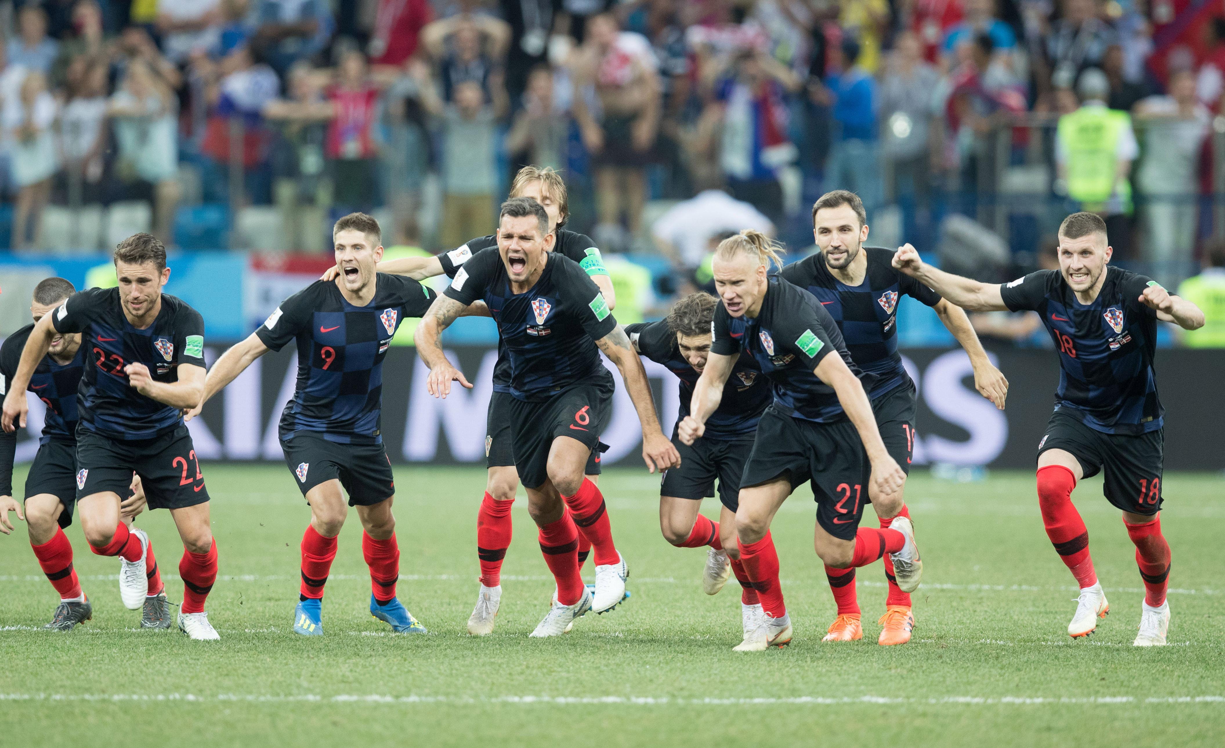 Soccer: World Cup-Croatia vs Denmark
