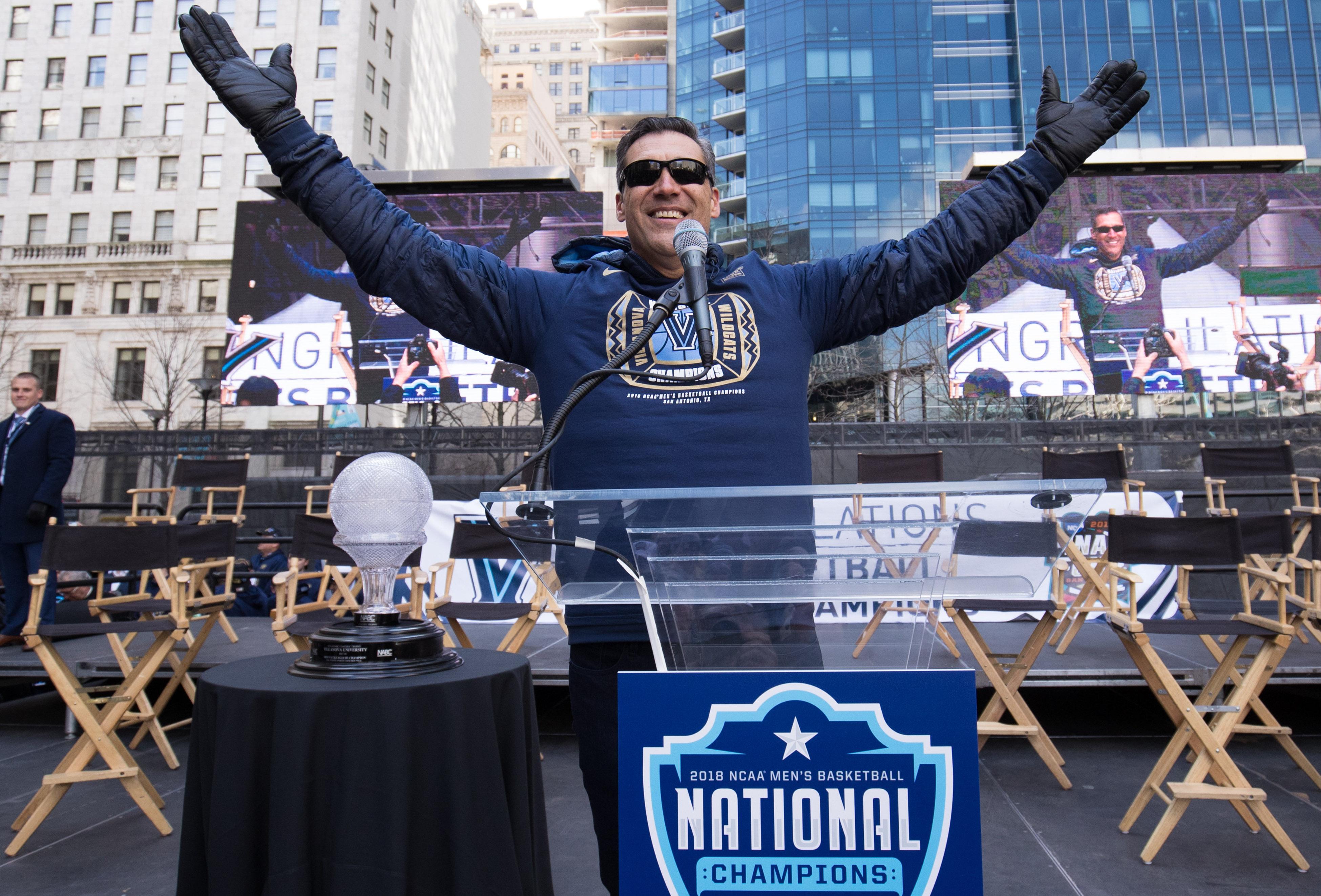 NCAA Basketball: Final Four National Champions-Villanova Parade