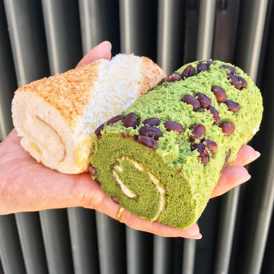 Rolls at 85C Bakery Cafe