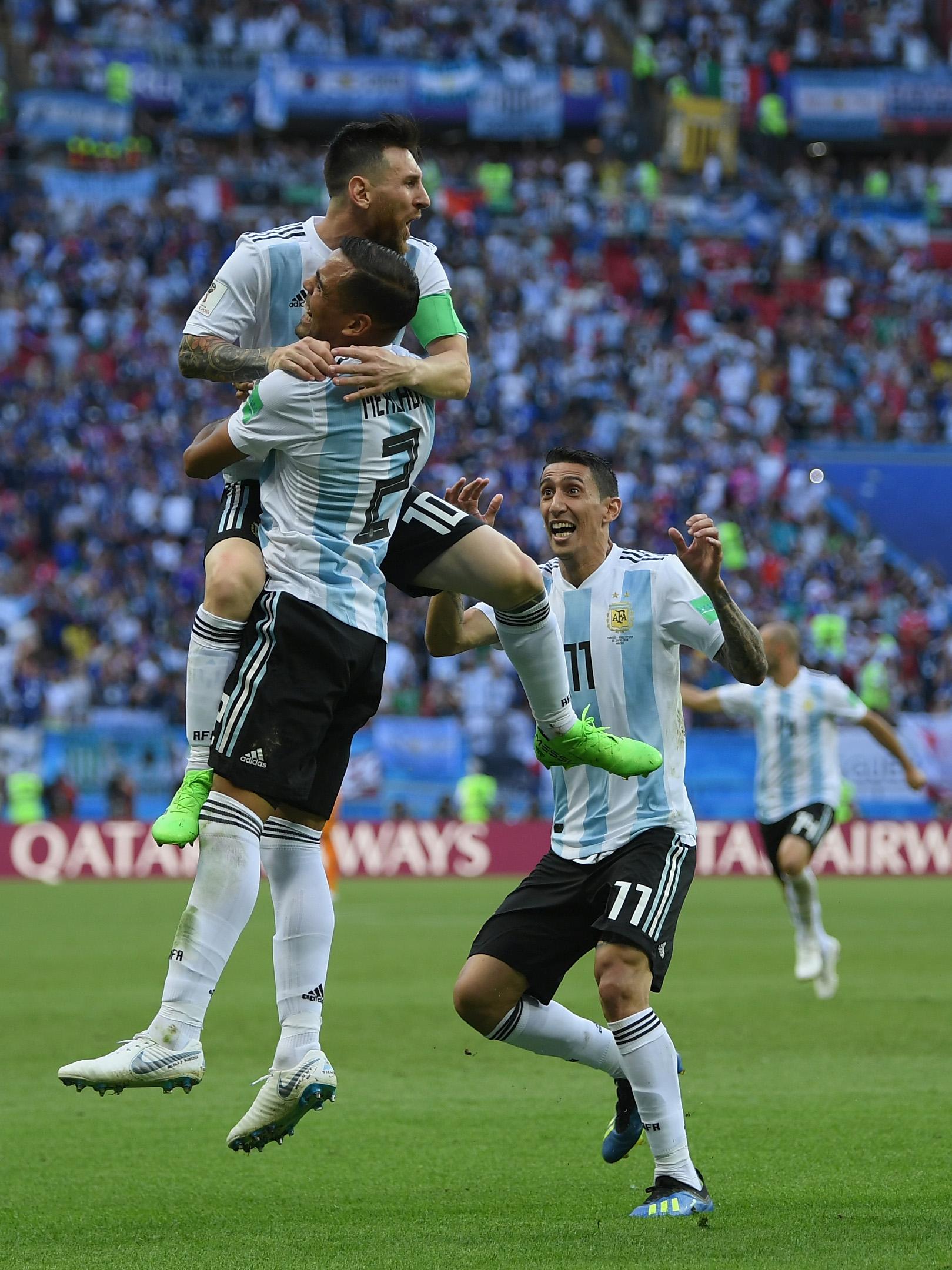 Gabriel Mercado - Argentina - Round of 16 - 2018 FIFA World Cup Russia