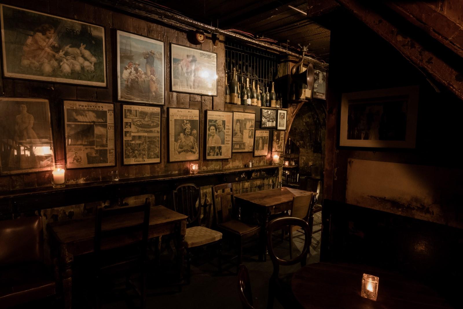 Gordon's Wine Bar is the oldest in London