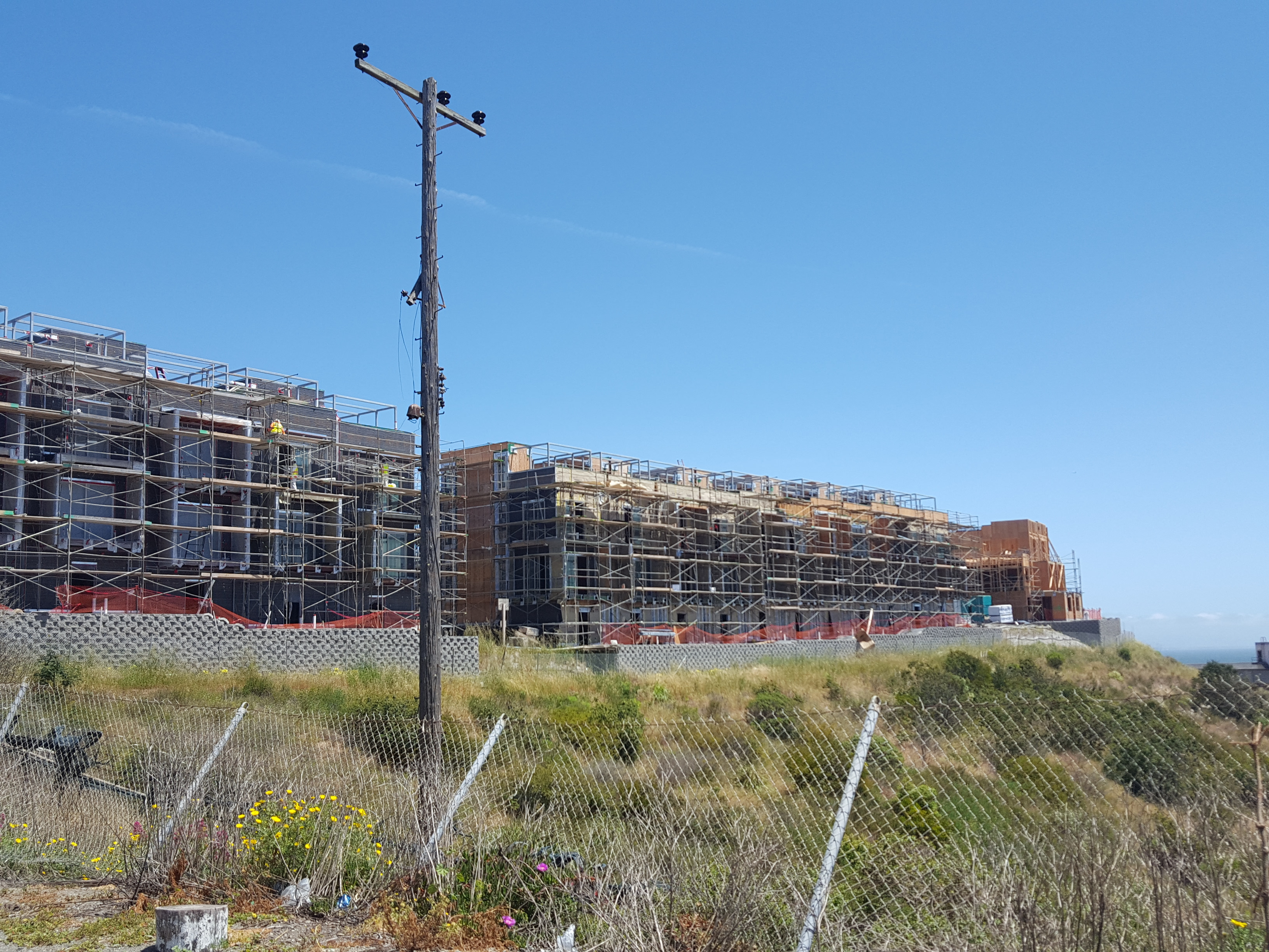 Housing at the Hunters Point Shipyard.