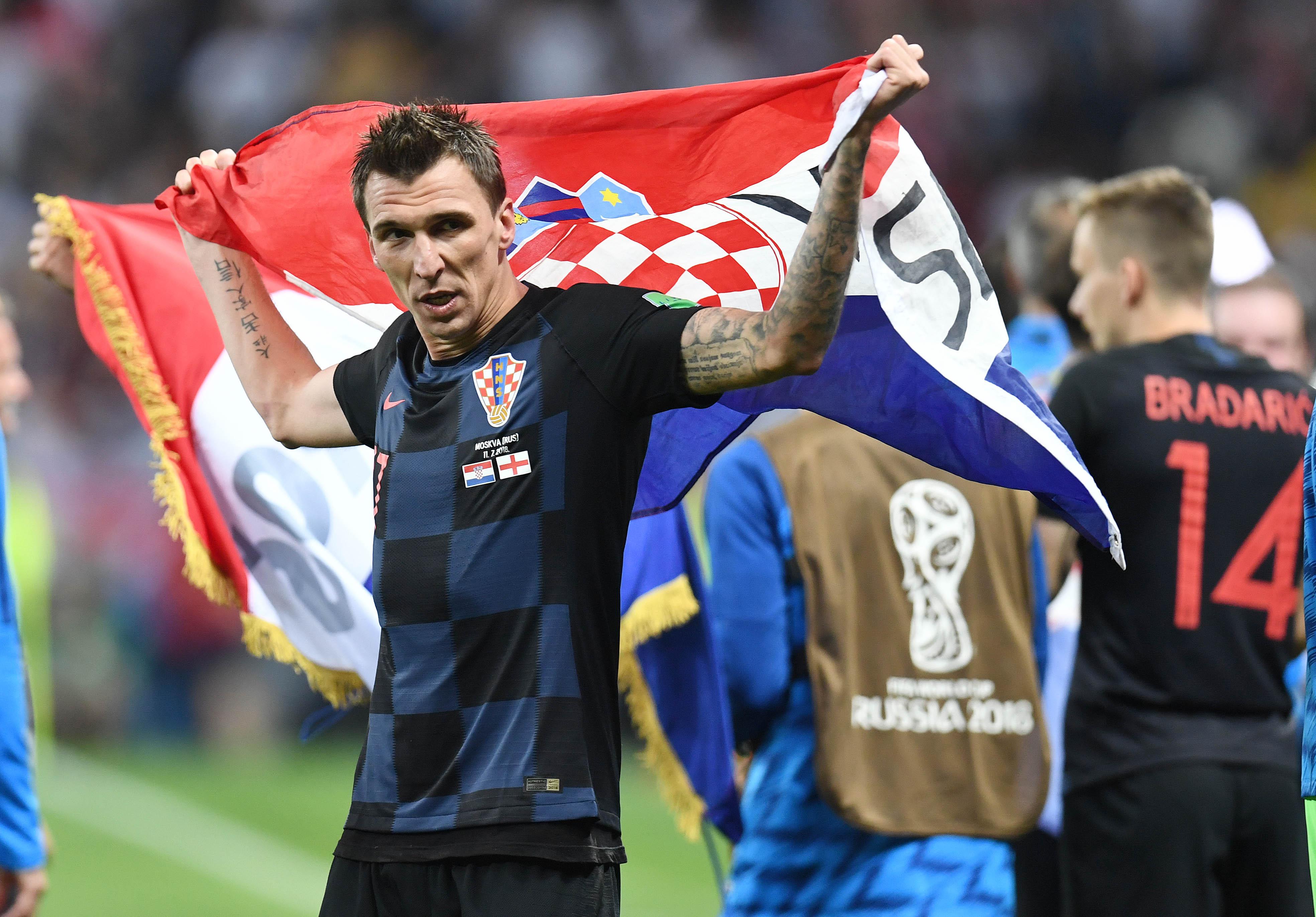 Soccer: World Cup-England vs Croatia