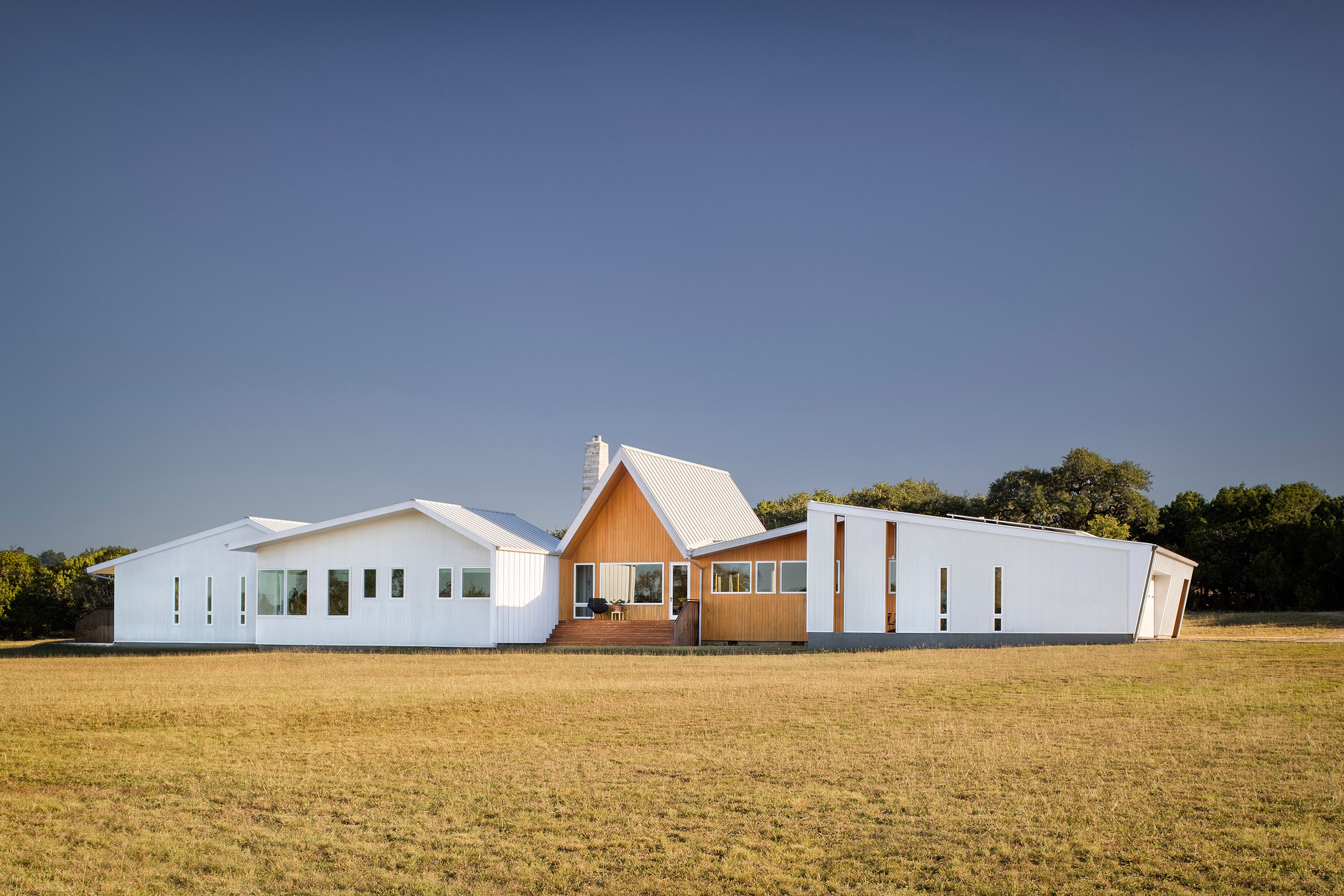 Cost-efficient modern farmhouse embraces sustainability