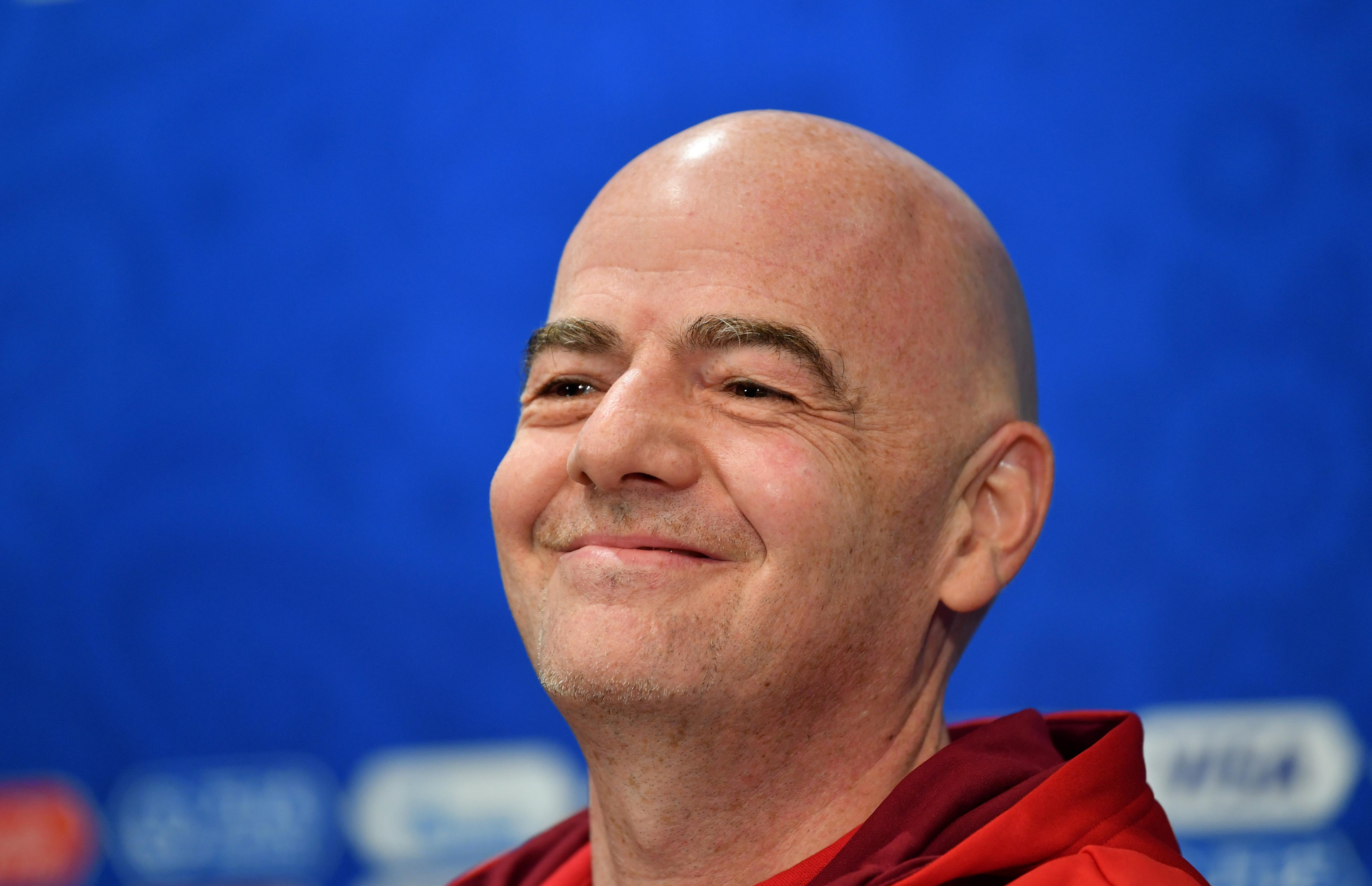 Closing Press Conference - 2018 FIFA World Cup Russia