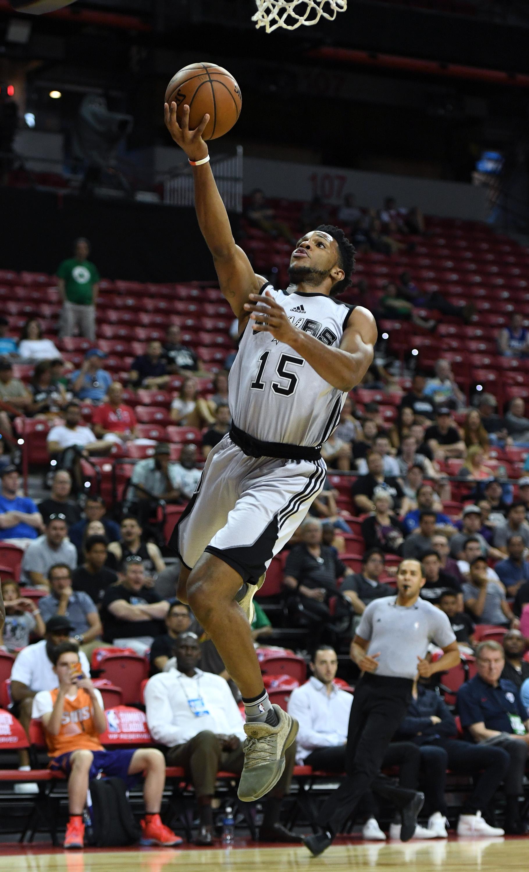 2017 Las Vegas Summer League - Philadelphia 76ers v San Antonio Spurs