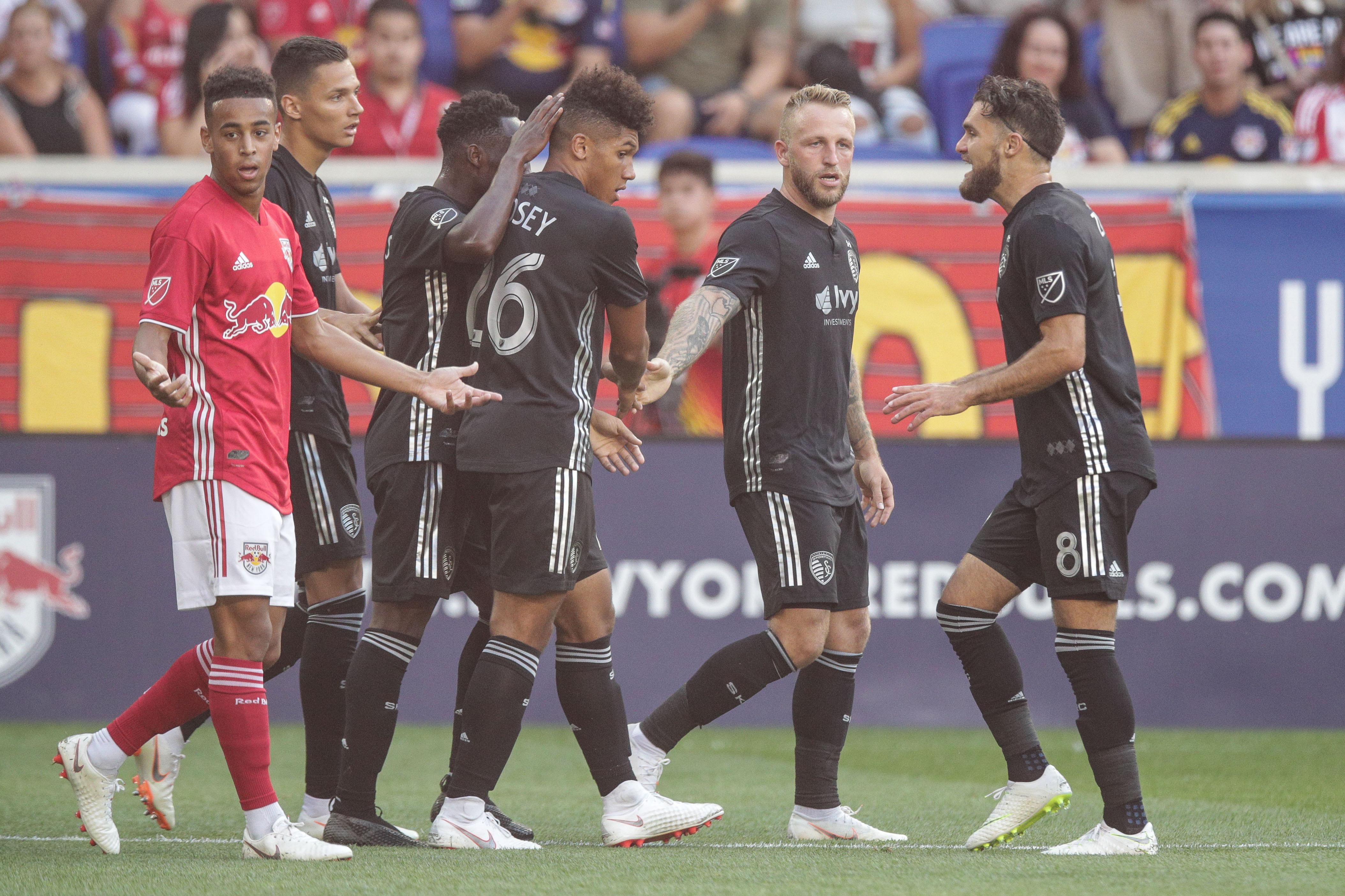 MLS: Sporting KC at New York Red Bulls