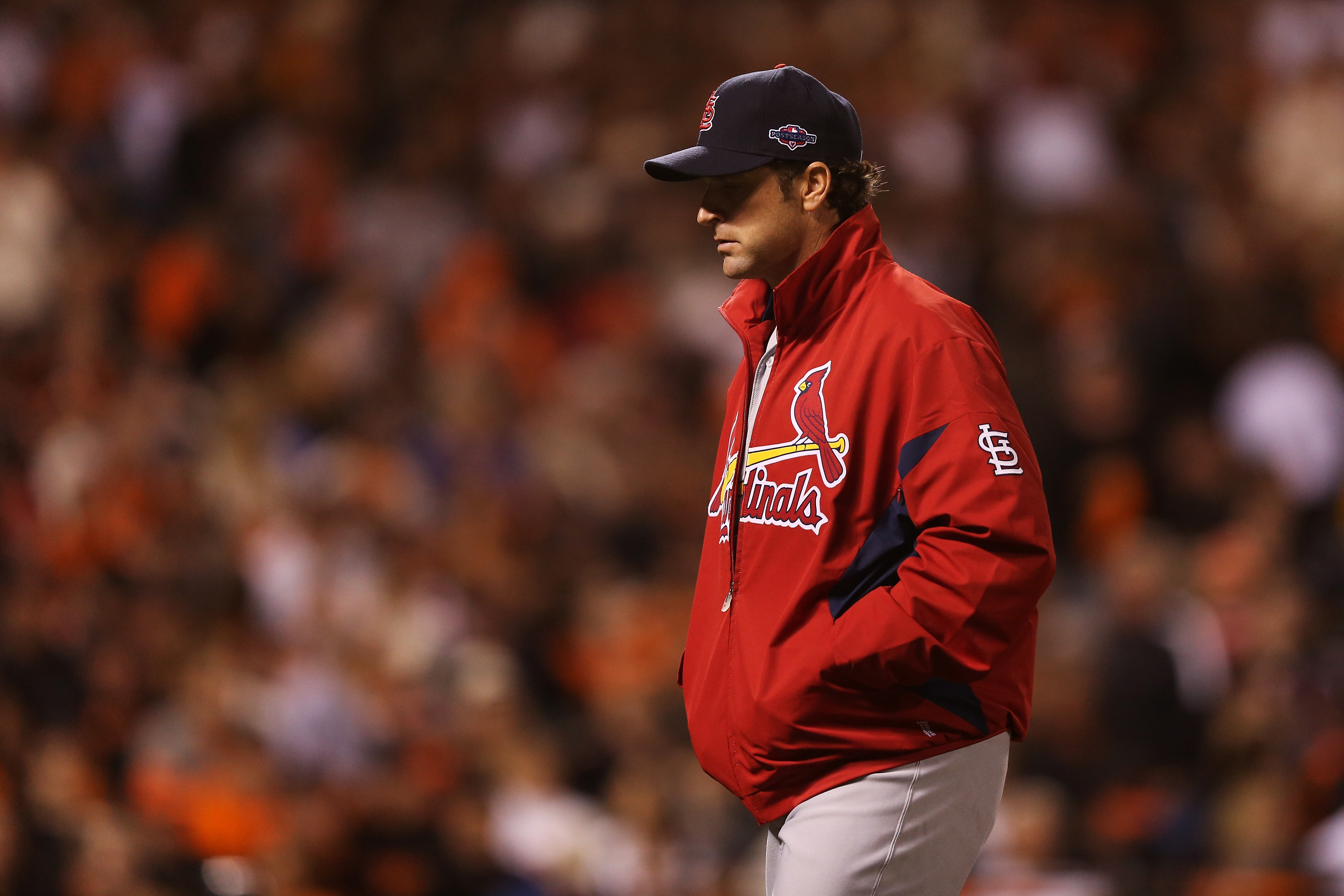 NLCS - St Louis Cardinals v San Francisco Giants - Game One