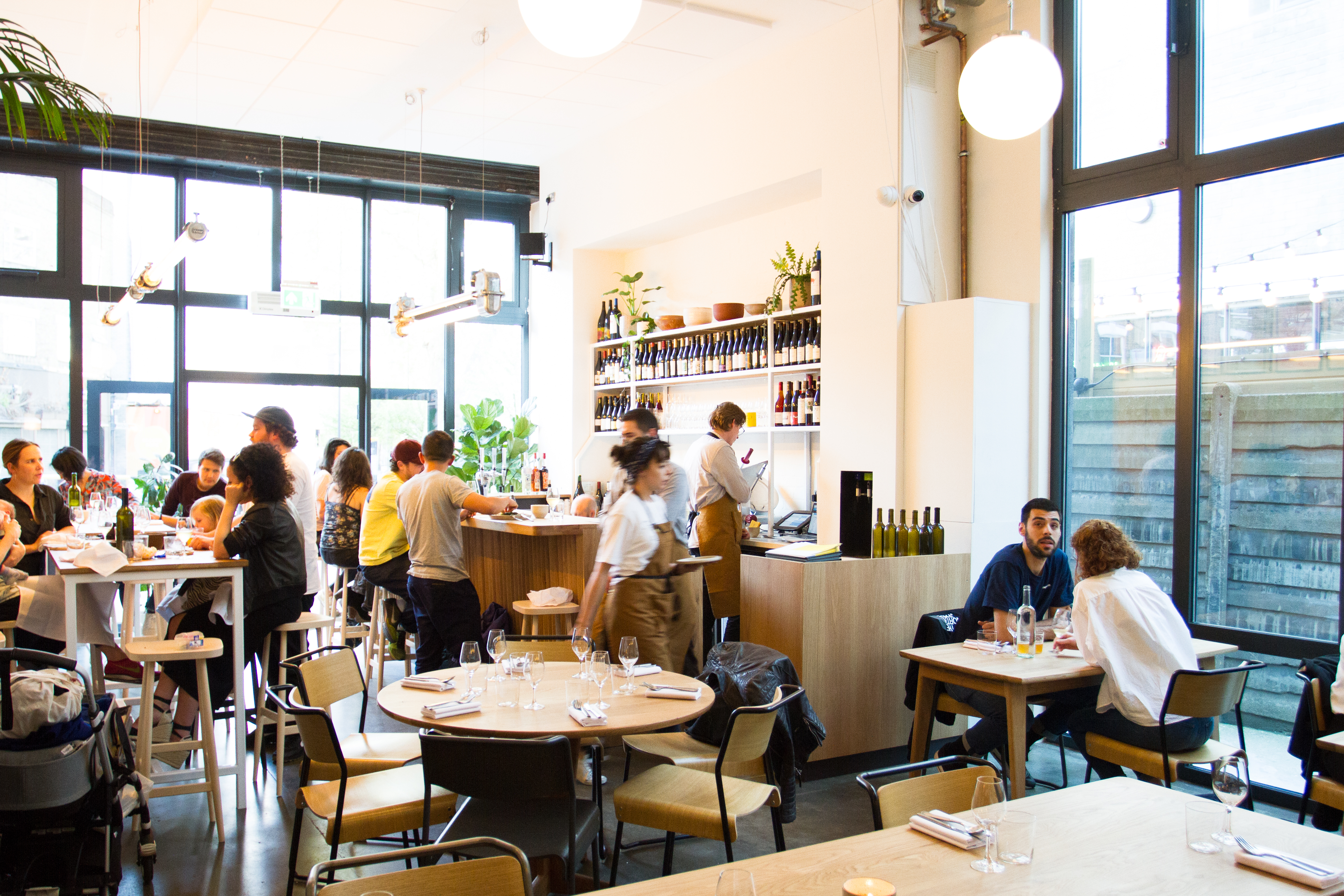 Bright restaurant by the team behind P. Franco and Peg in Hackney is one of the best restaurants in London, spring 2019