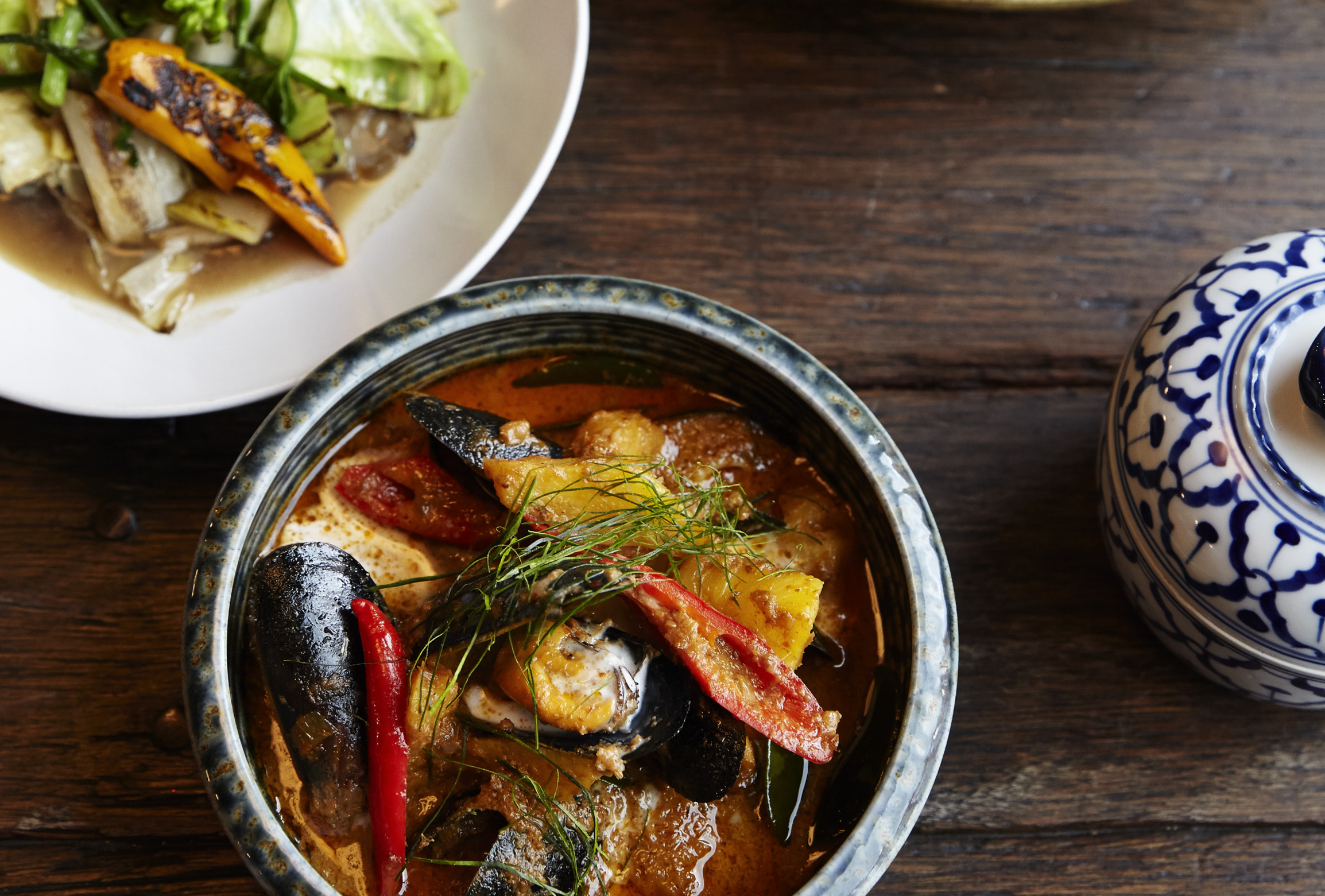 Som Saa and Andy Ricker of Pok Pok will do a London restaurant pop-up in August