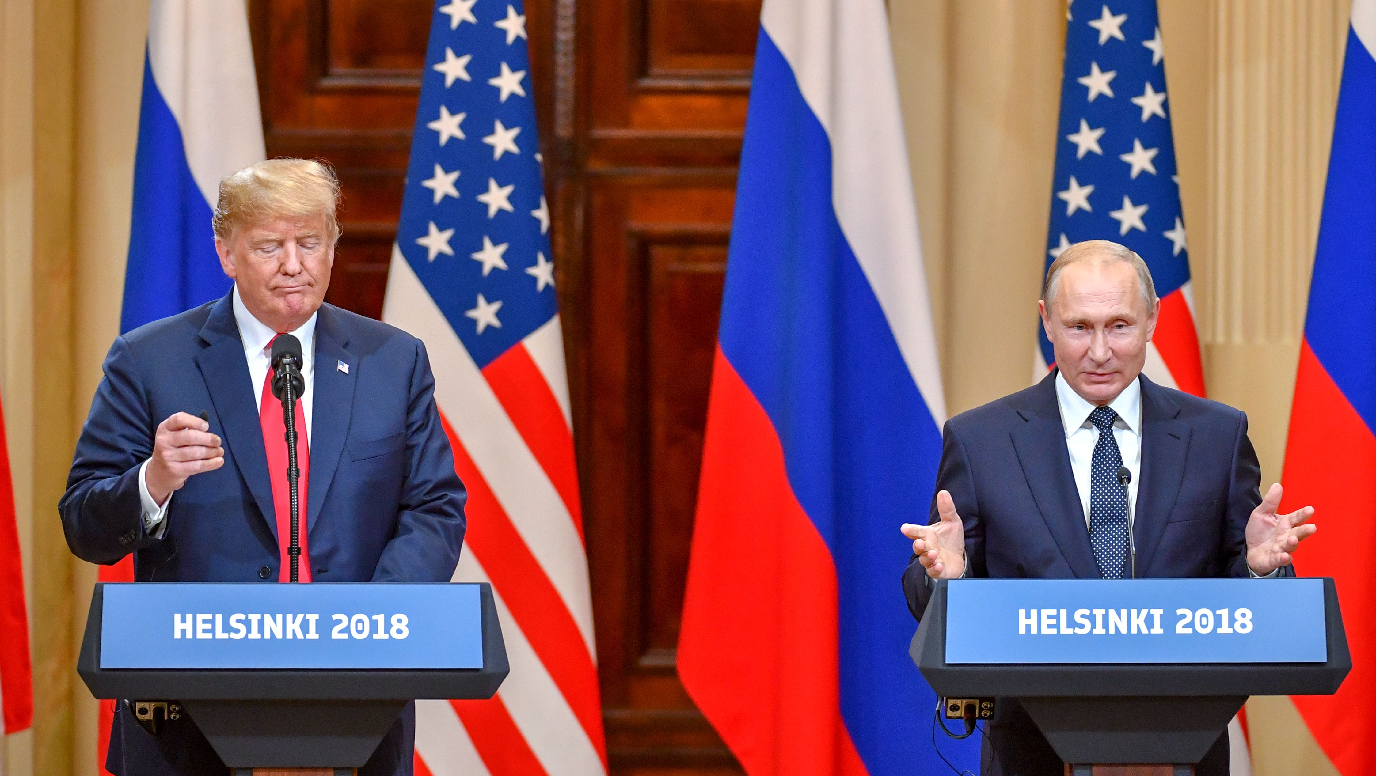 A Conservative Magazine Blasted Trump For Meeting With Putin