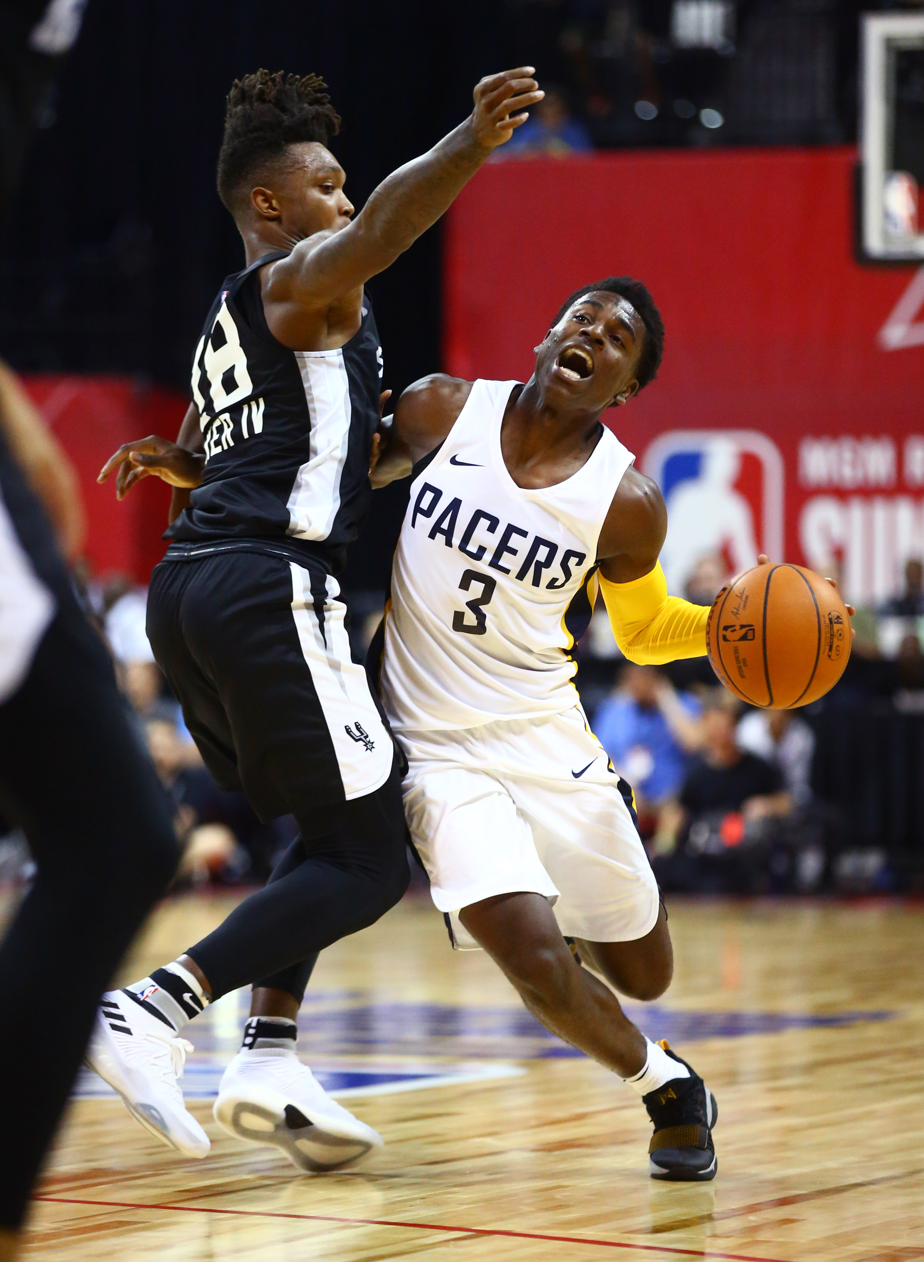 NBA: Summer League-San Antonio Spurs at Indiana Pacers