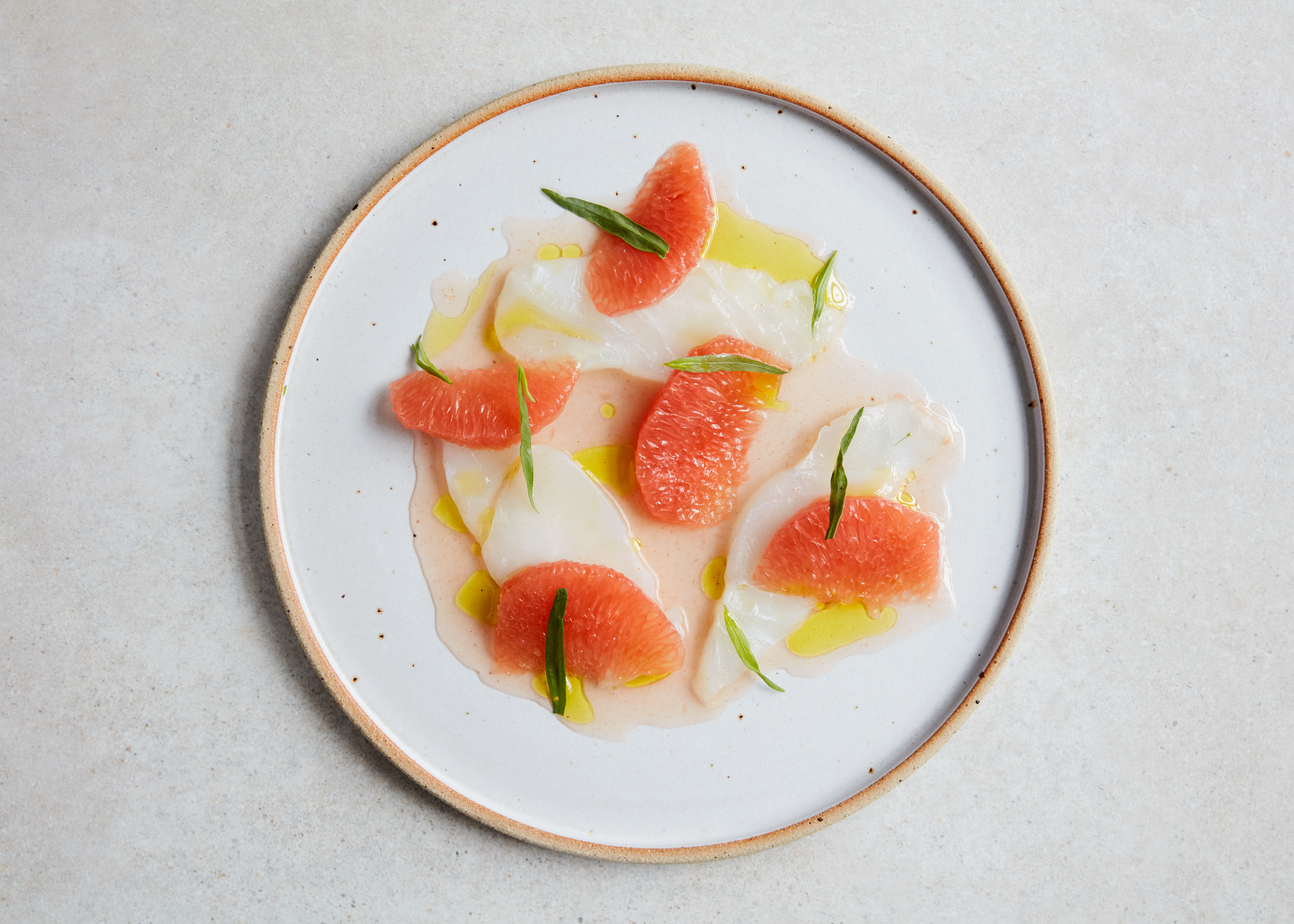 Cod crudo, at Levan in Peckham, the upcoming London restaurant opening from Nicholas Balfe of Salon, Brixton
