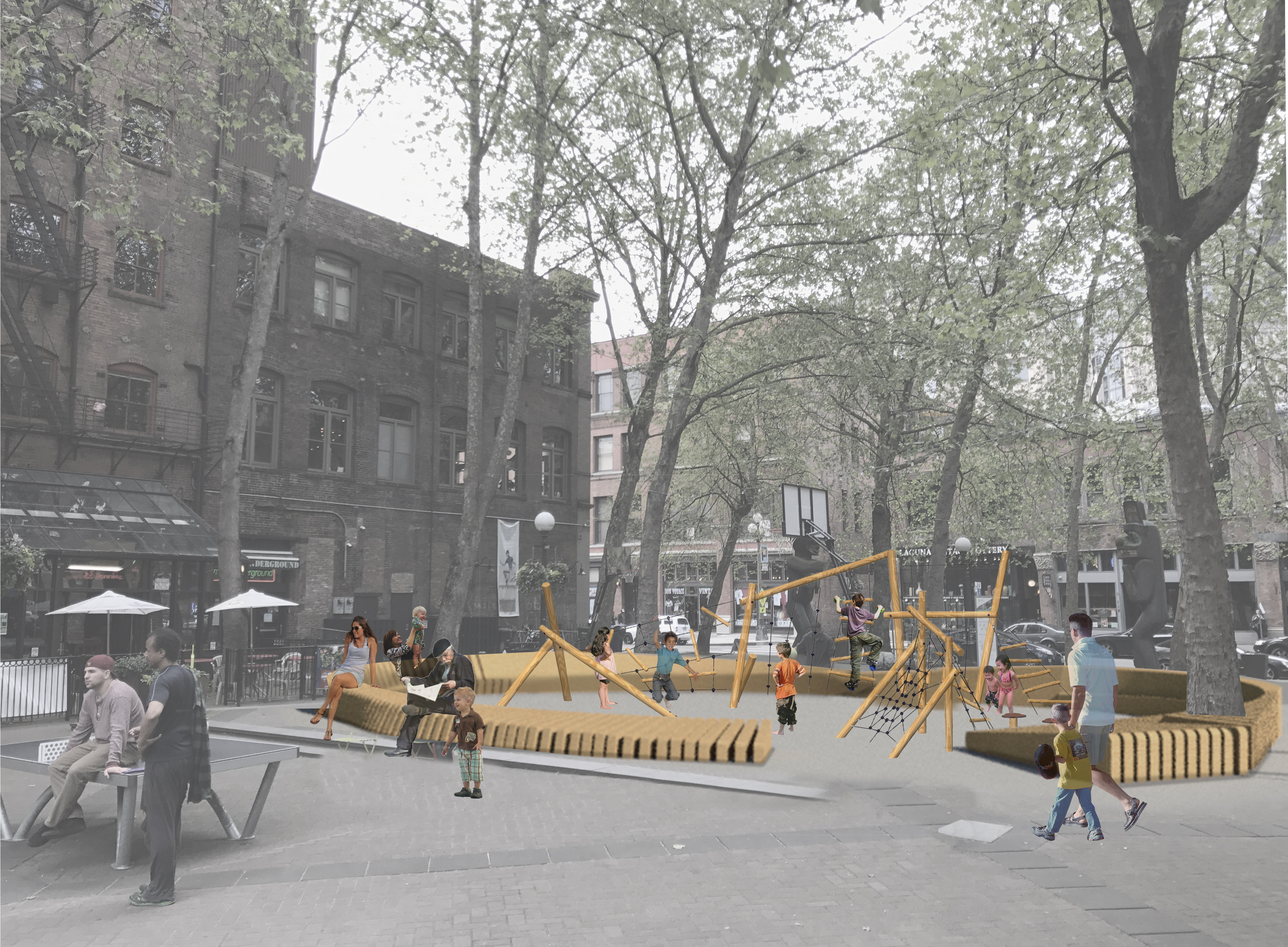 Pioneer Square Is Getting A Playground
