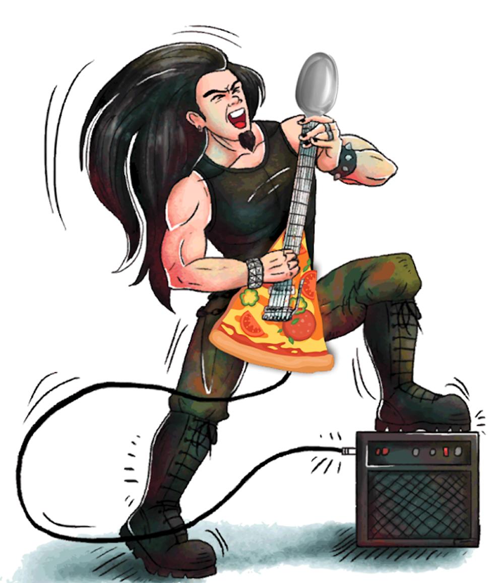 Rockin Rice Puddin and NY Pizza