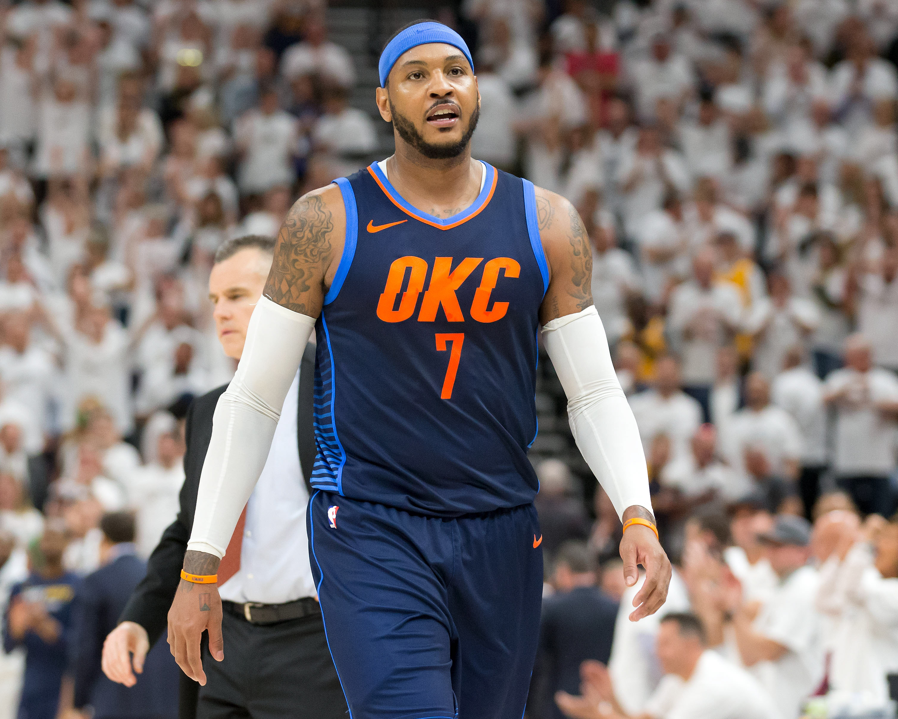 eb315b017ffd NBA Free Agency  What s next for Carmelo Anthony  - Troy Nunes Is An ...