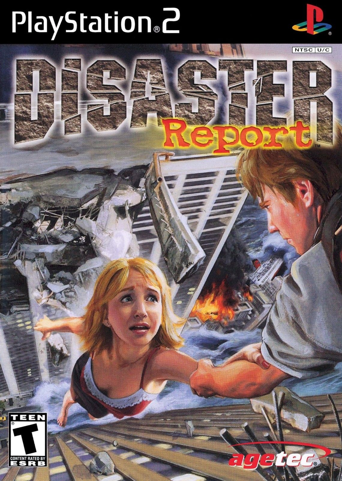 Disaster Report is a rare PS2 classic that finds horror in natural disasters, not zombies