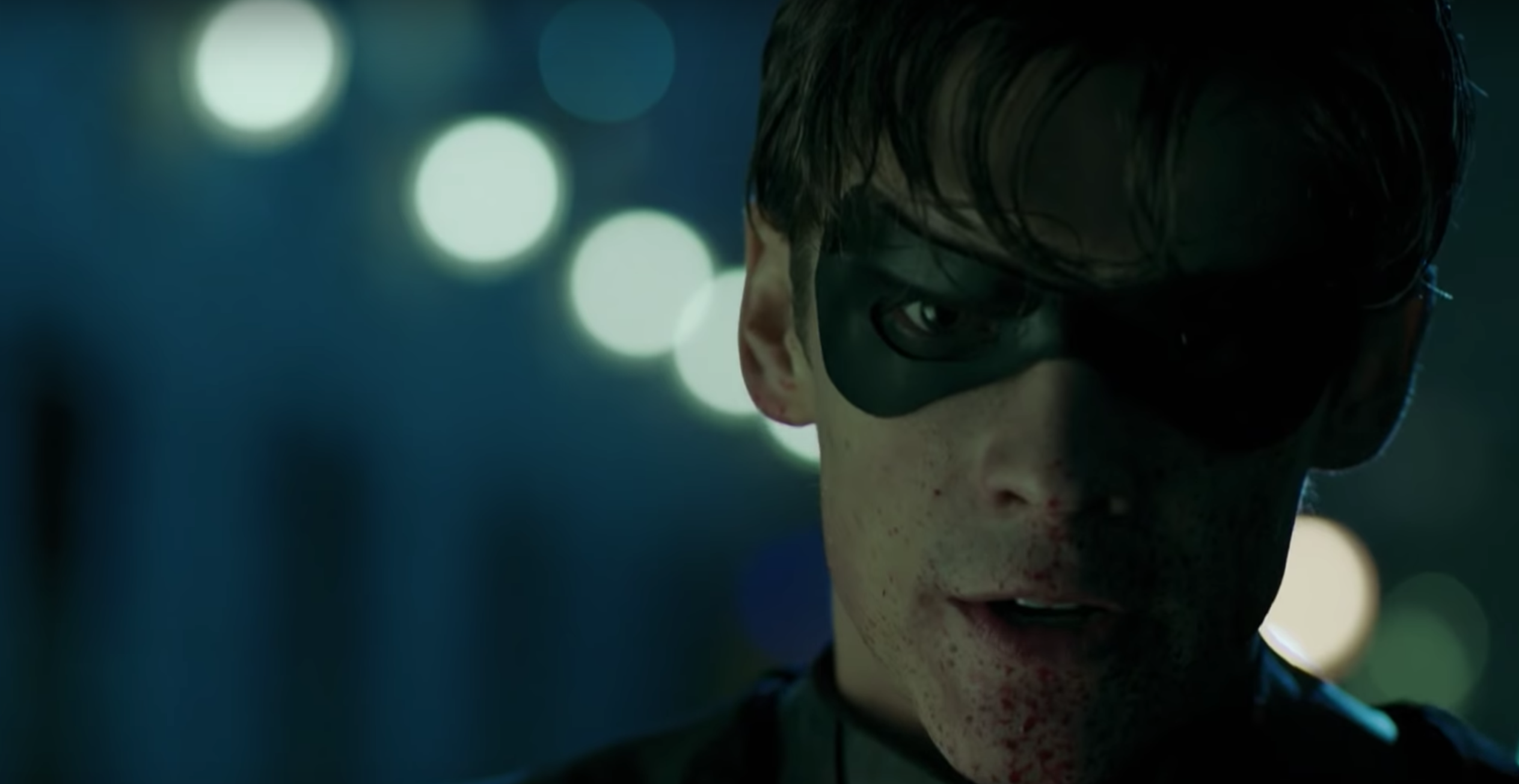 Teen Titans live-action trailer intros brutal Robin and F-bombs