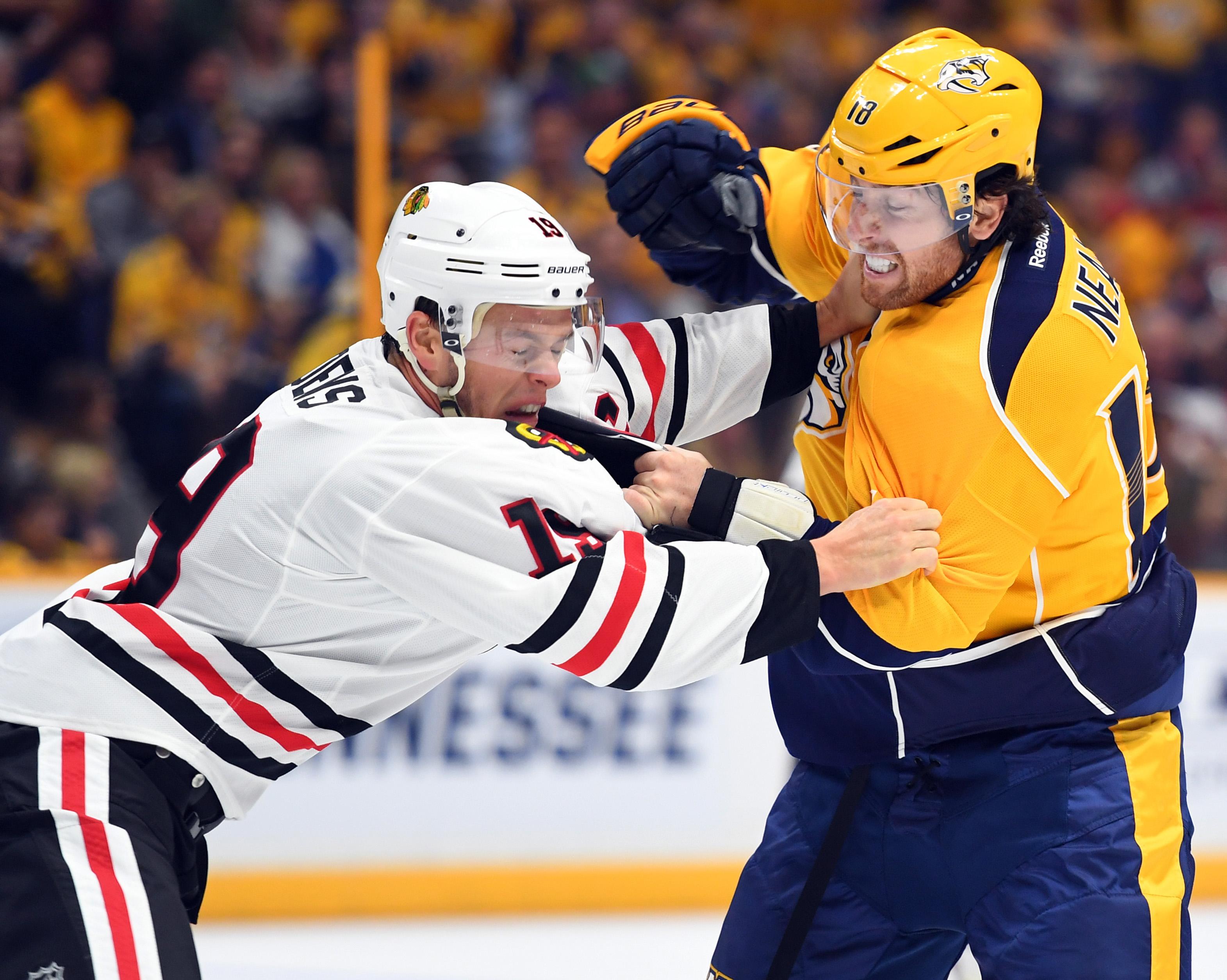 NHL: Chicago Blackhawks at Nashville Predators
