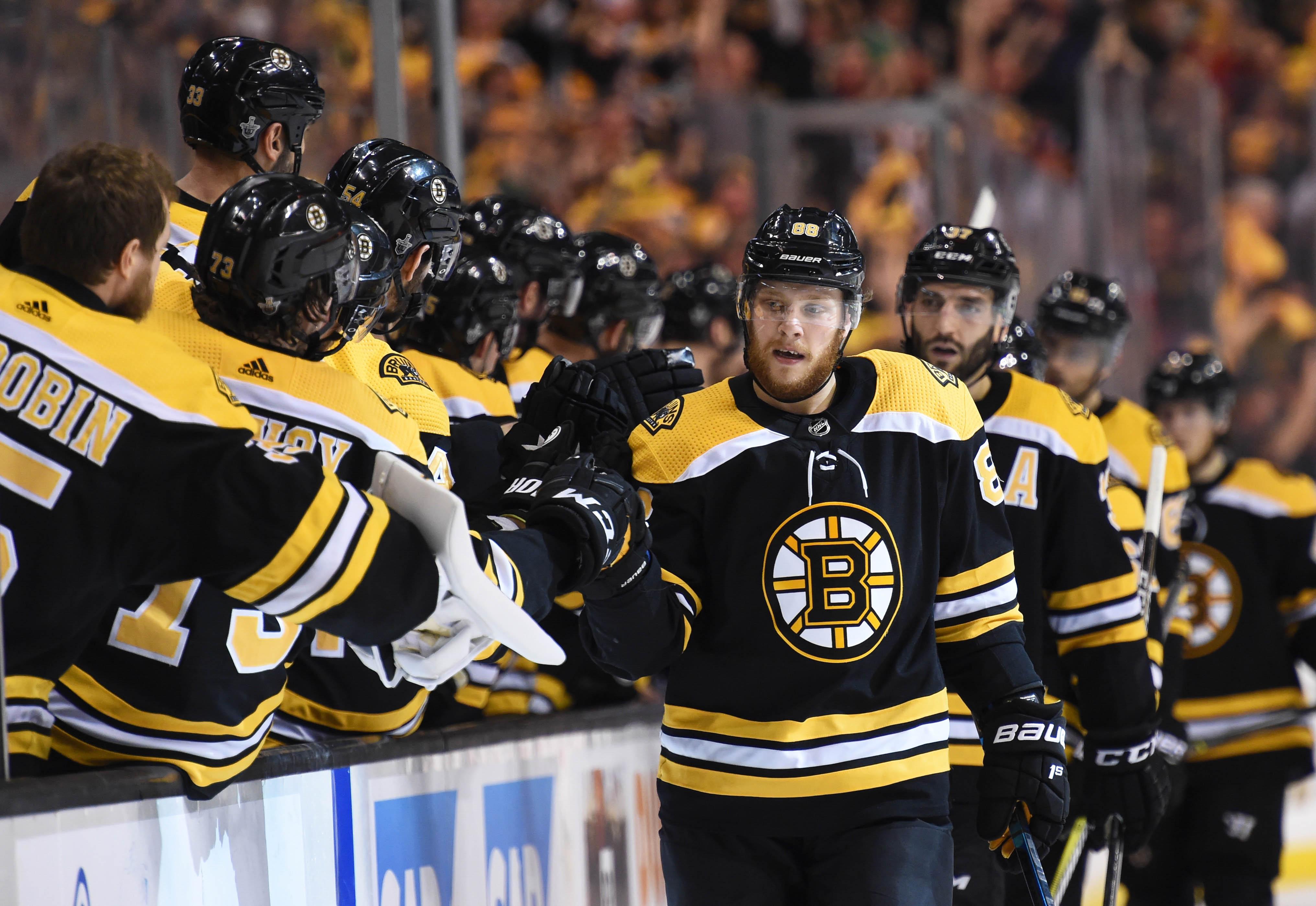 NHL: Stanley Cup Playoffs-Tampa Bay Lightning at Boston Bruins