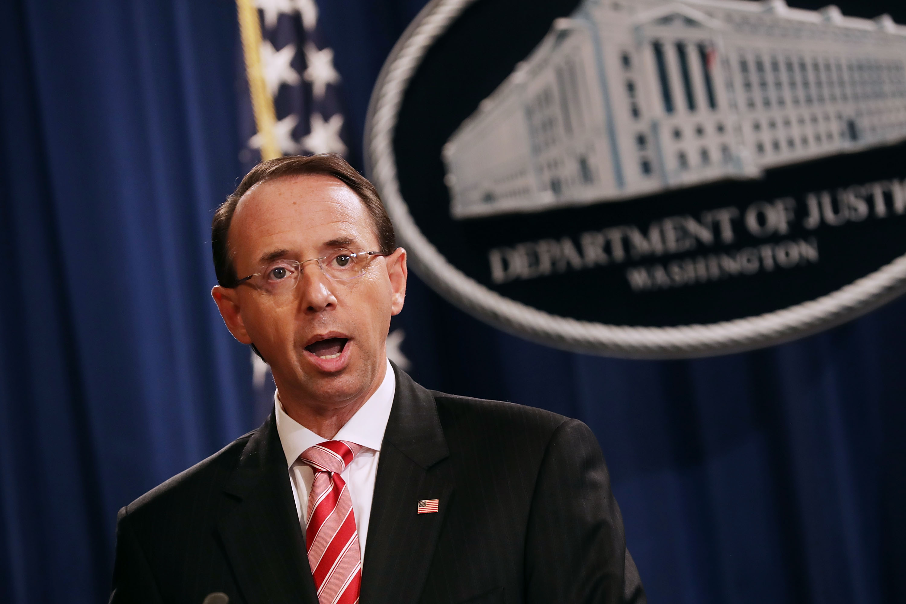 Rod Rosenstein On Russian Cyberattacks Its What They Do Every