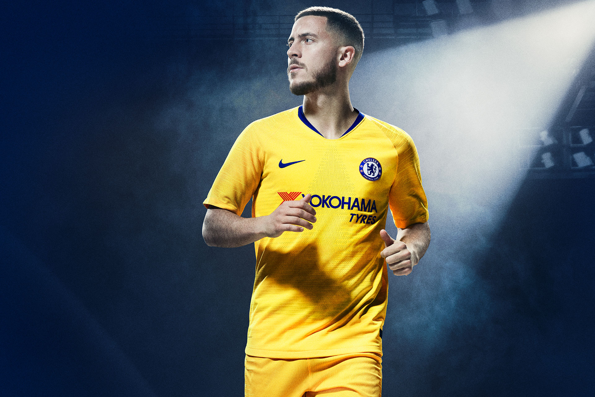 daadbc139 Nike and Chelsea launch gloriously yellow 2018-19 away kit