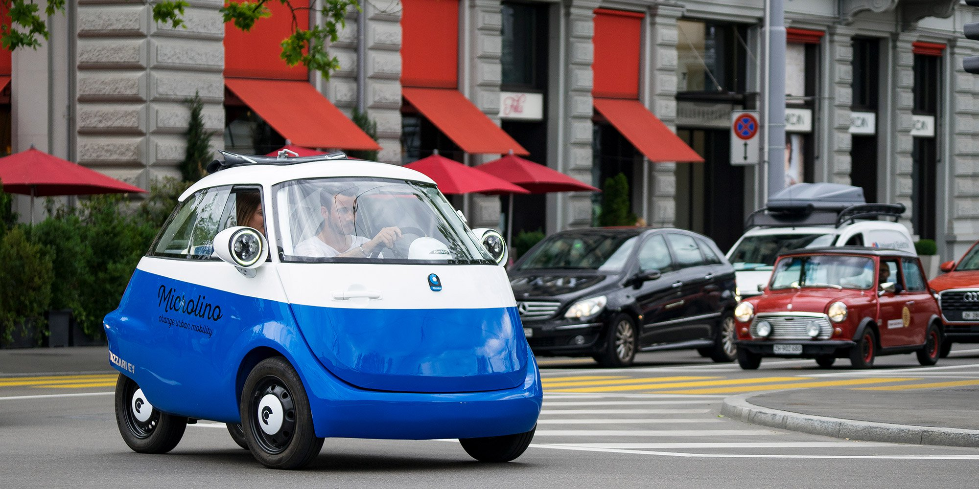 The adorable Microlino car just got approved for European streets