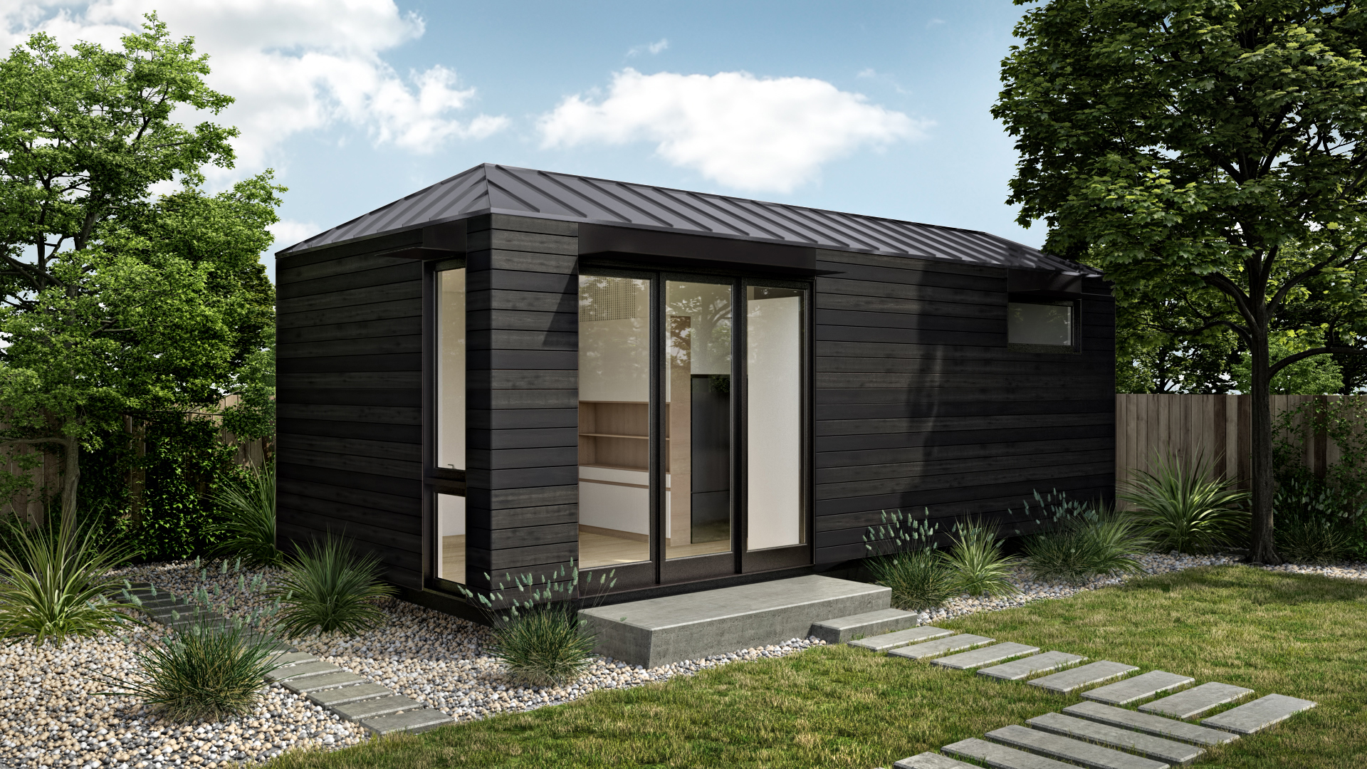 Prefab curbed for Accessory dwelling unit austin