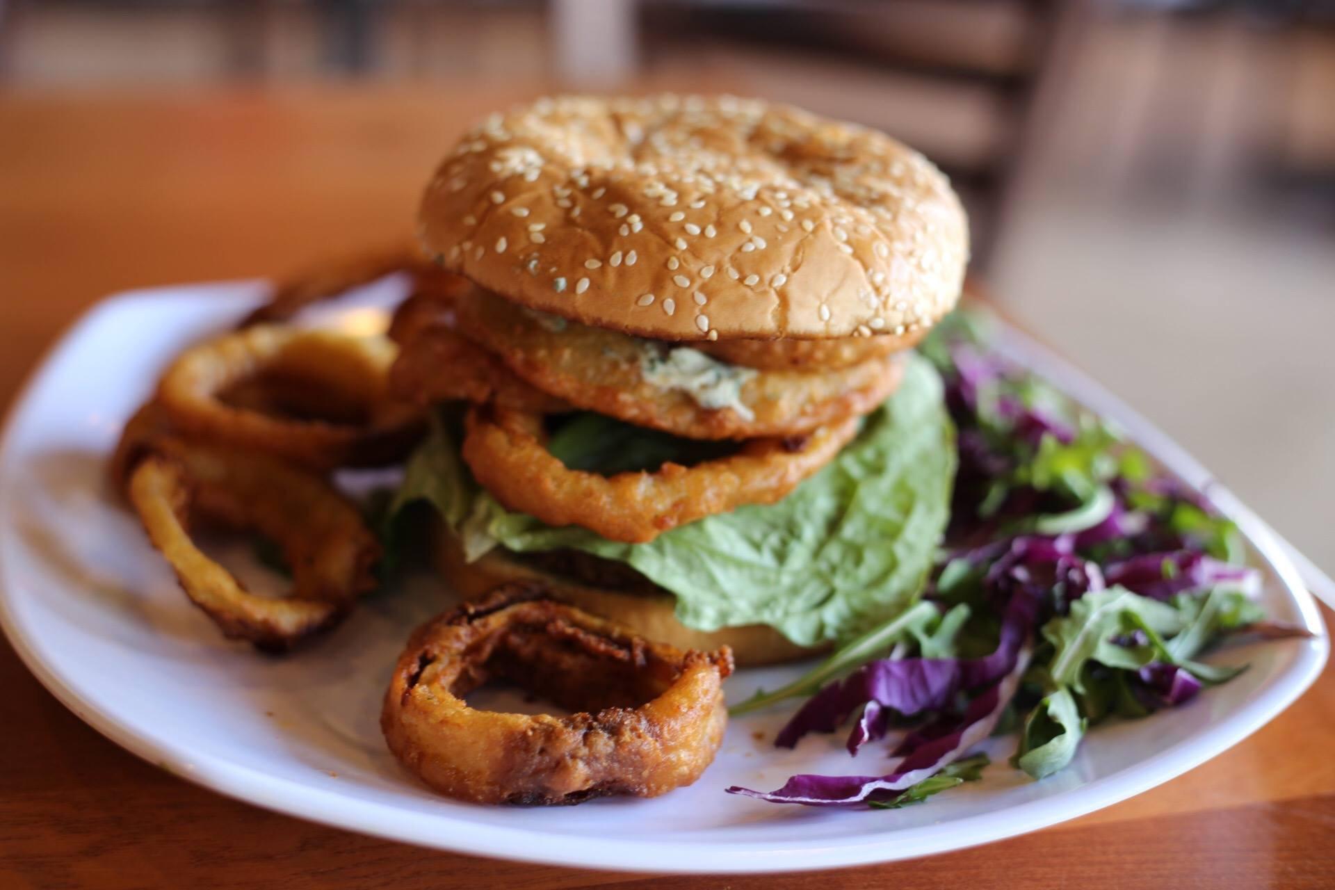 The Bleu Moon at Blinders, Burgers & Brunch