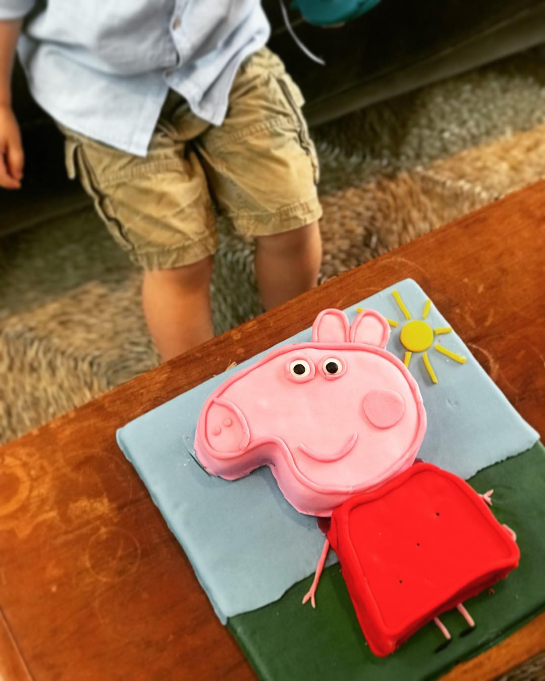 A peppa pig cake from dad Yotam Ottolenghi