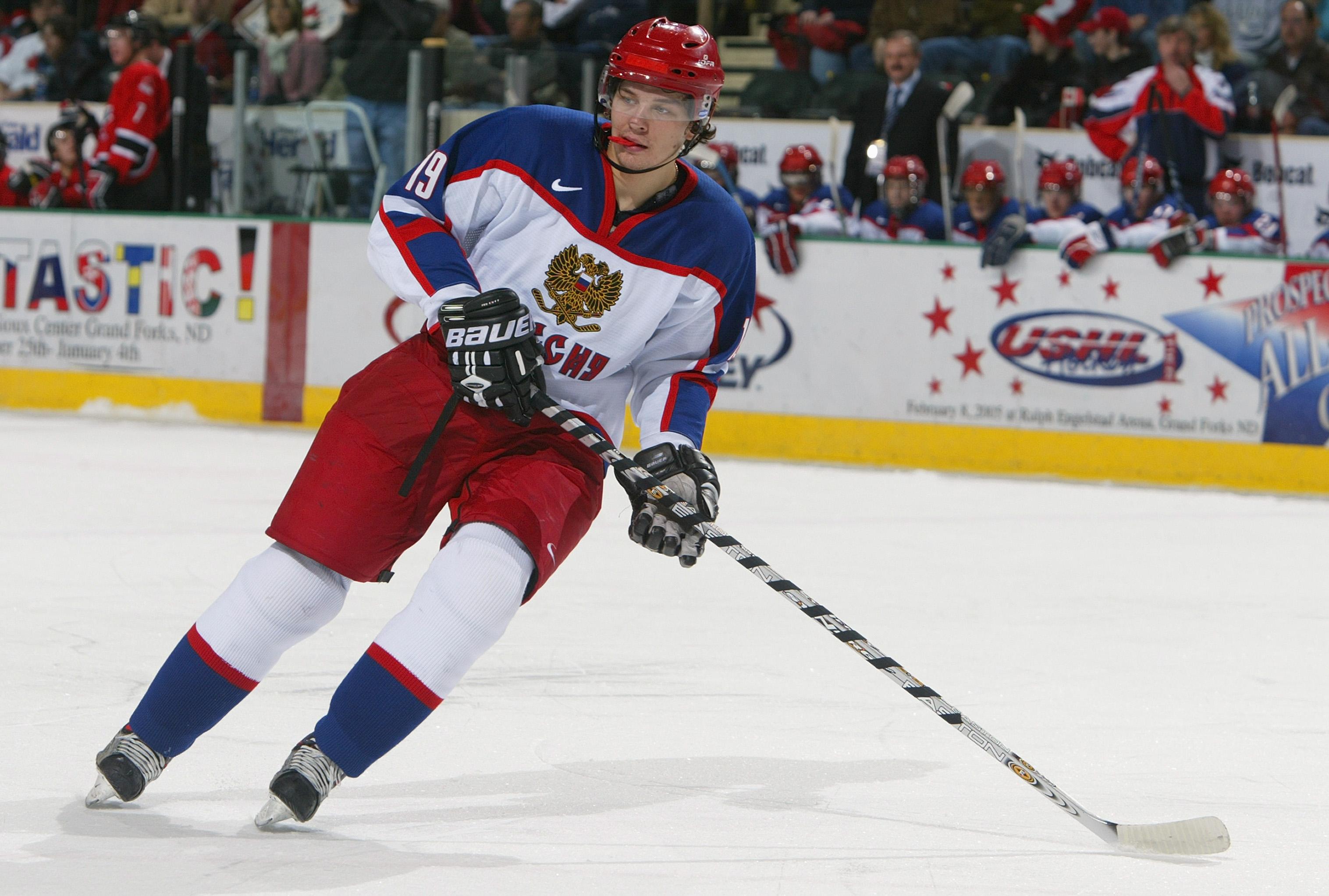 World Jr. Hockey: Russia v Canada