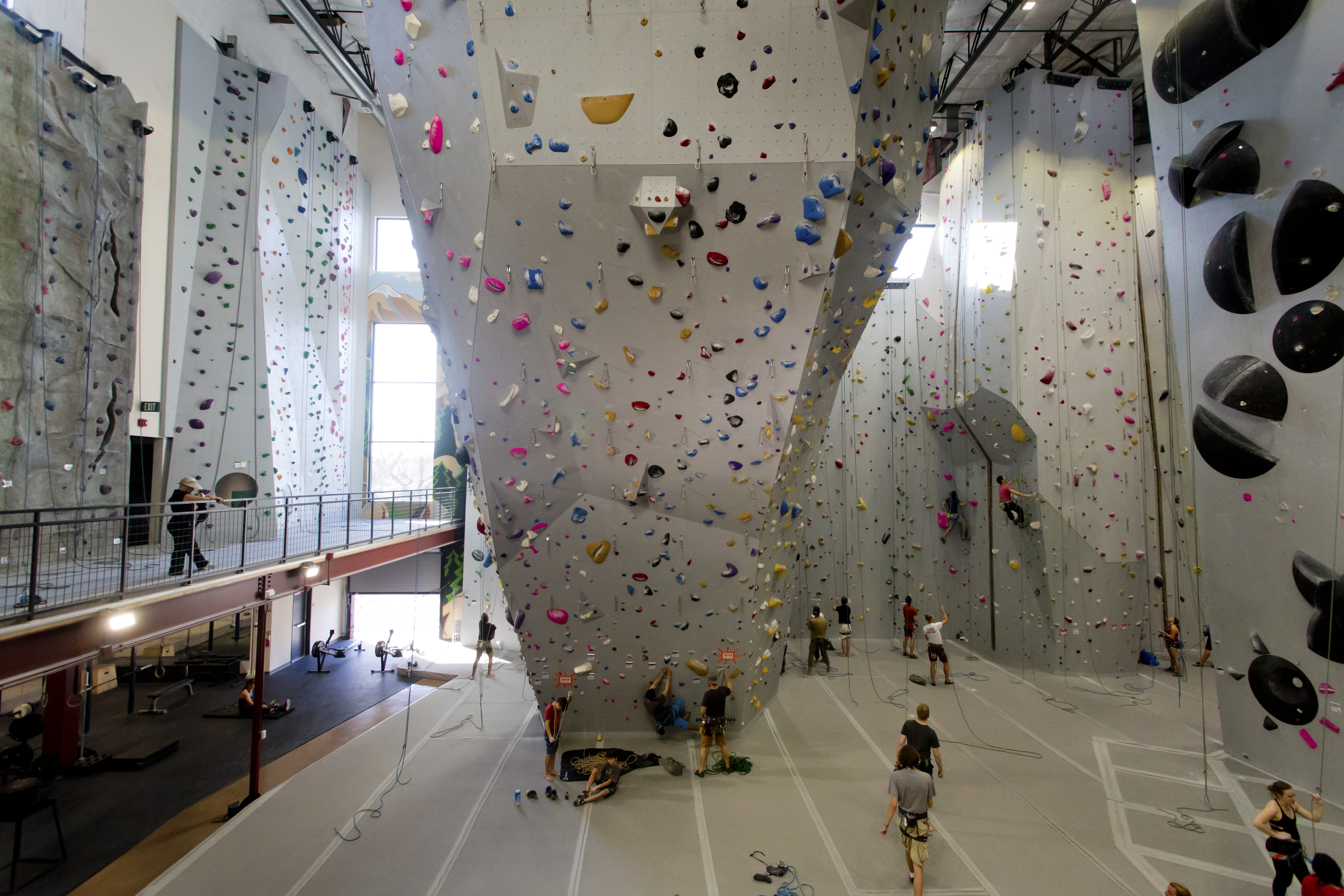 The ascent of climbing gyms, and battle for post-industrial real estate