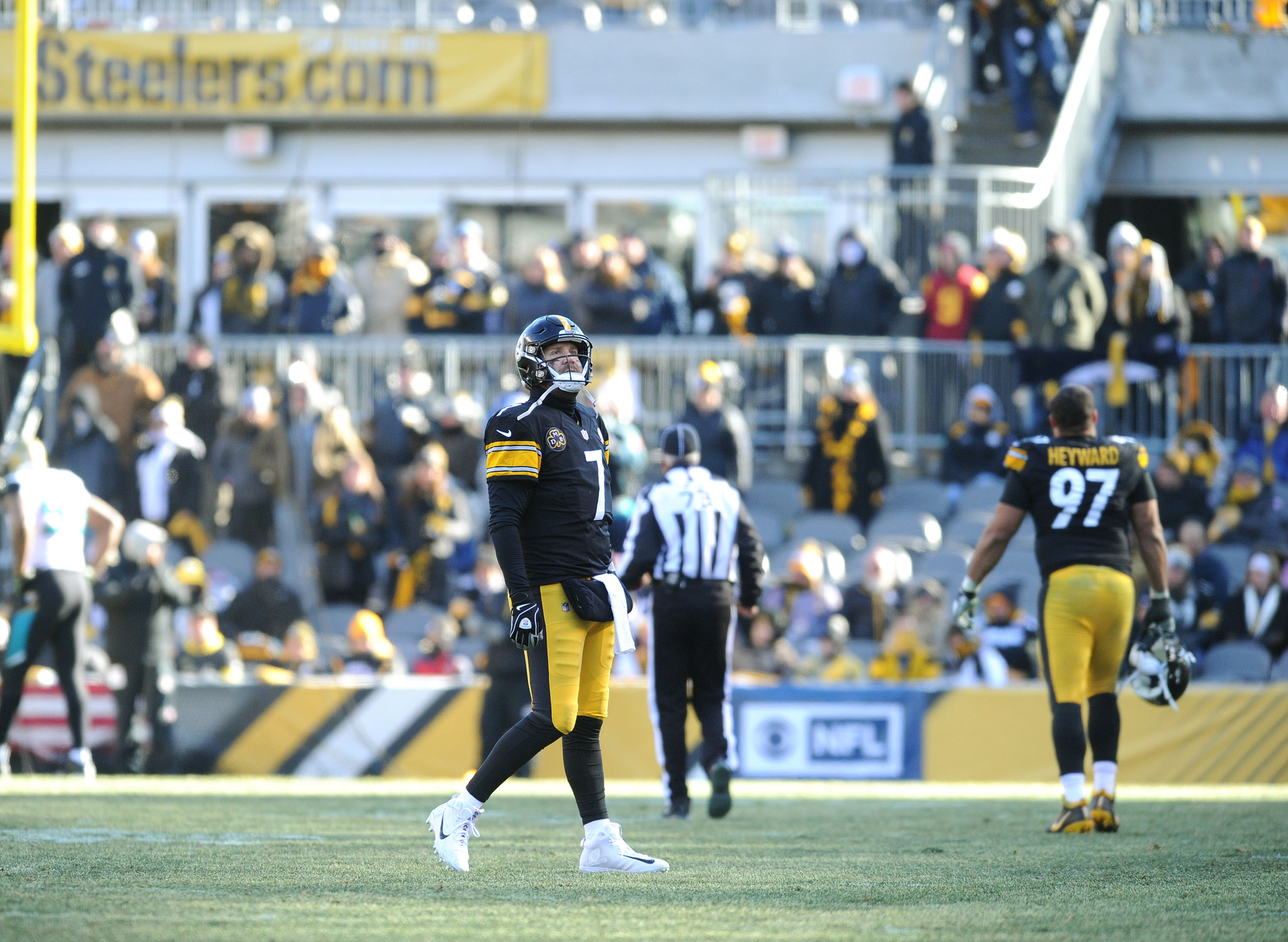 NFL: AFC Divisional Playoff-Jacksonville at Pittsburgh Steelers