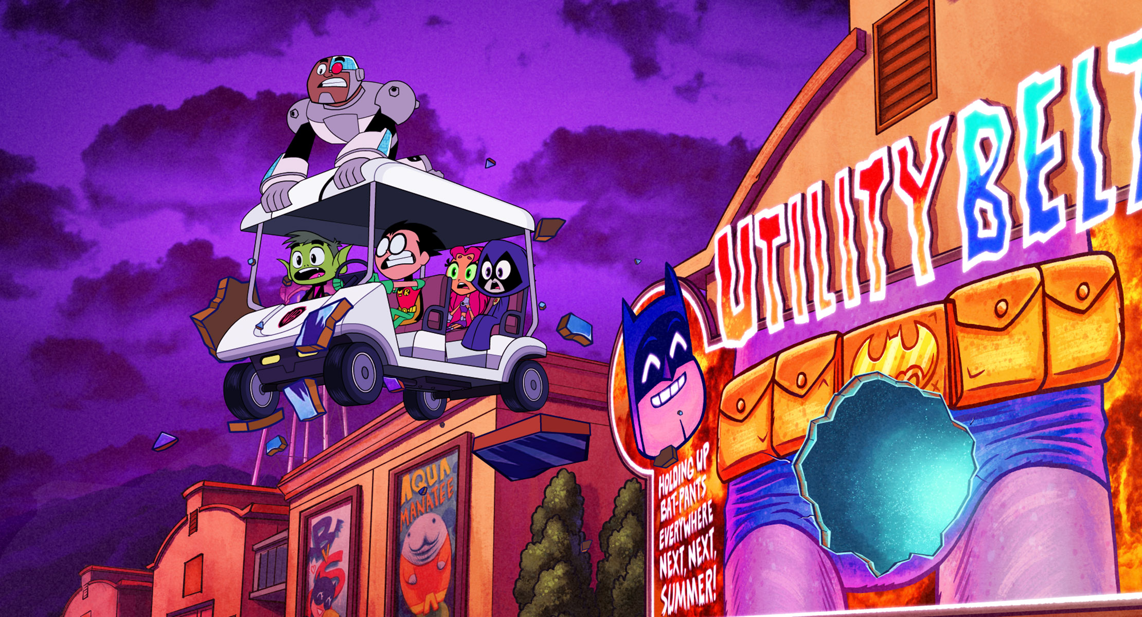 Teen Titans Go! to the Movies is a candy-colored cure for superhero movie fatigue