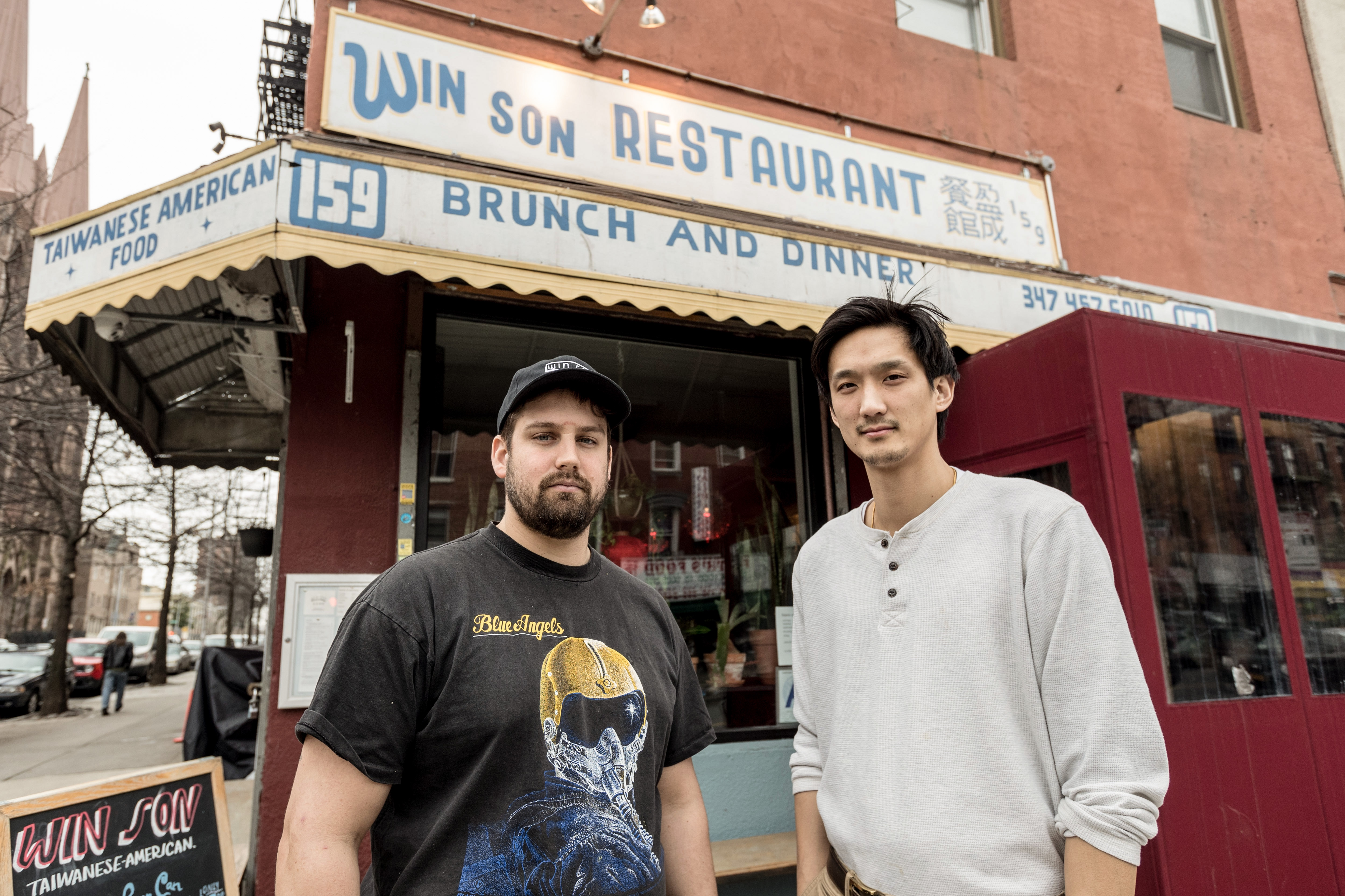 Trigg Brown and Josh Ku, Win Son's founders
